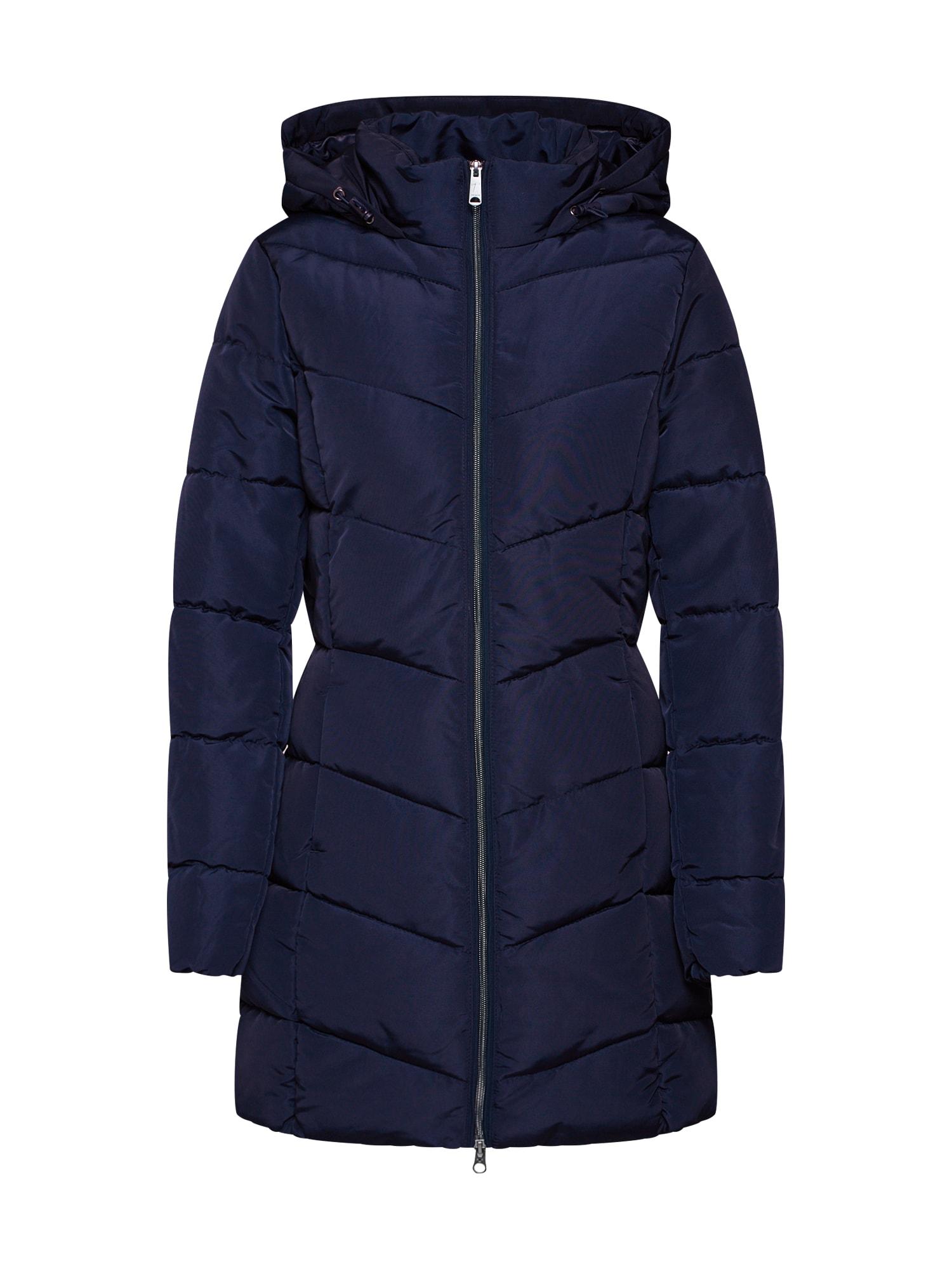 Zimní kabát modrá TOM TAILOR