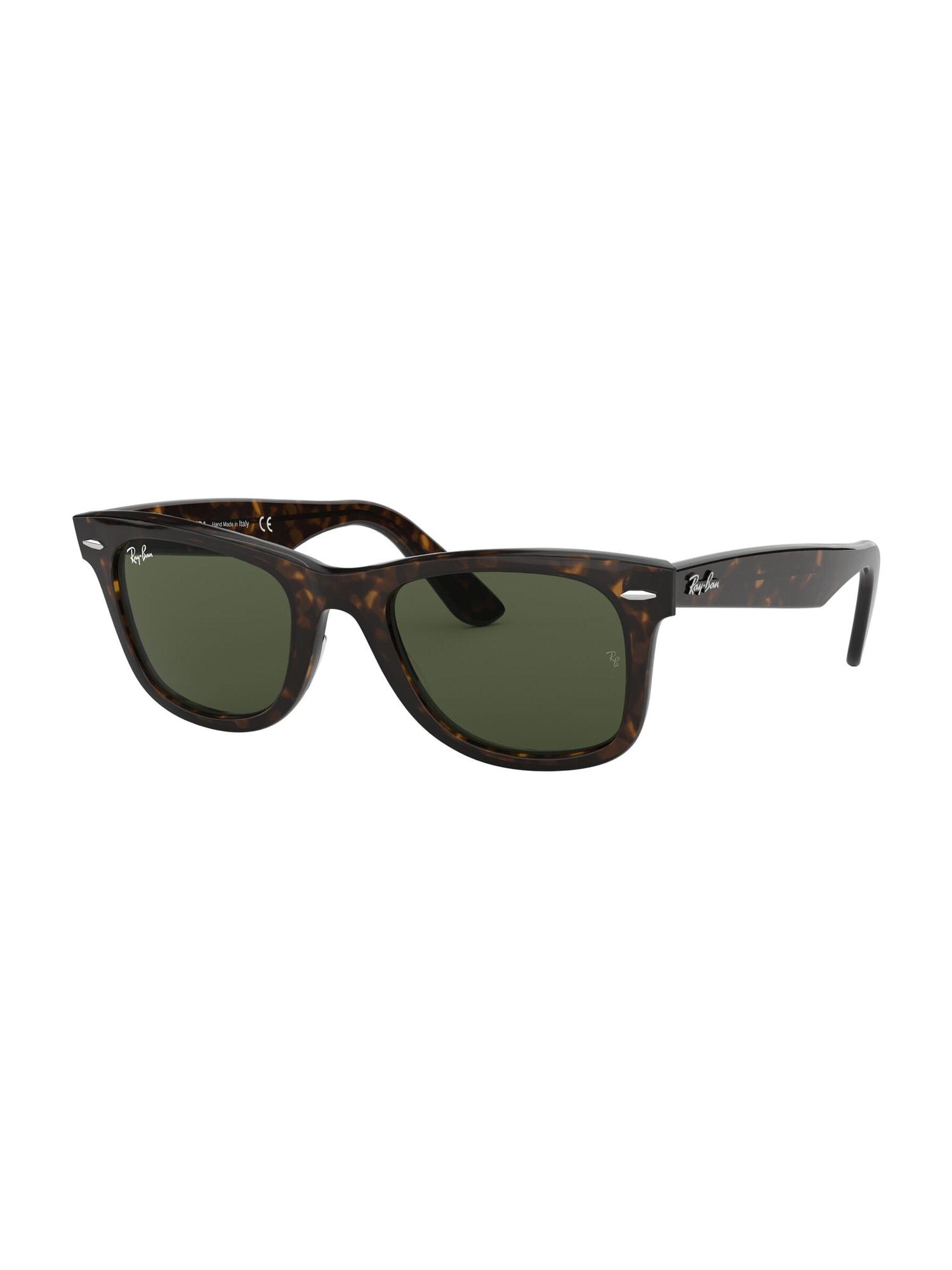 Ray-Ban Sluneční brýle 'Wayfarer'  hnědá / černá