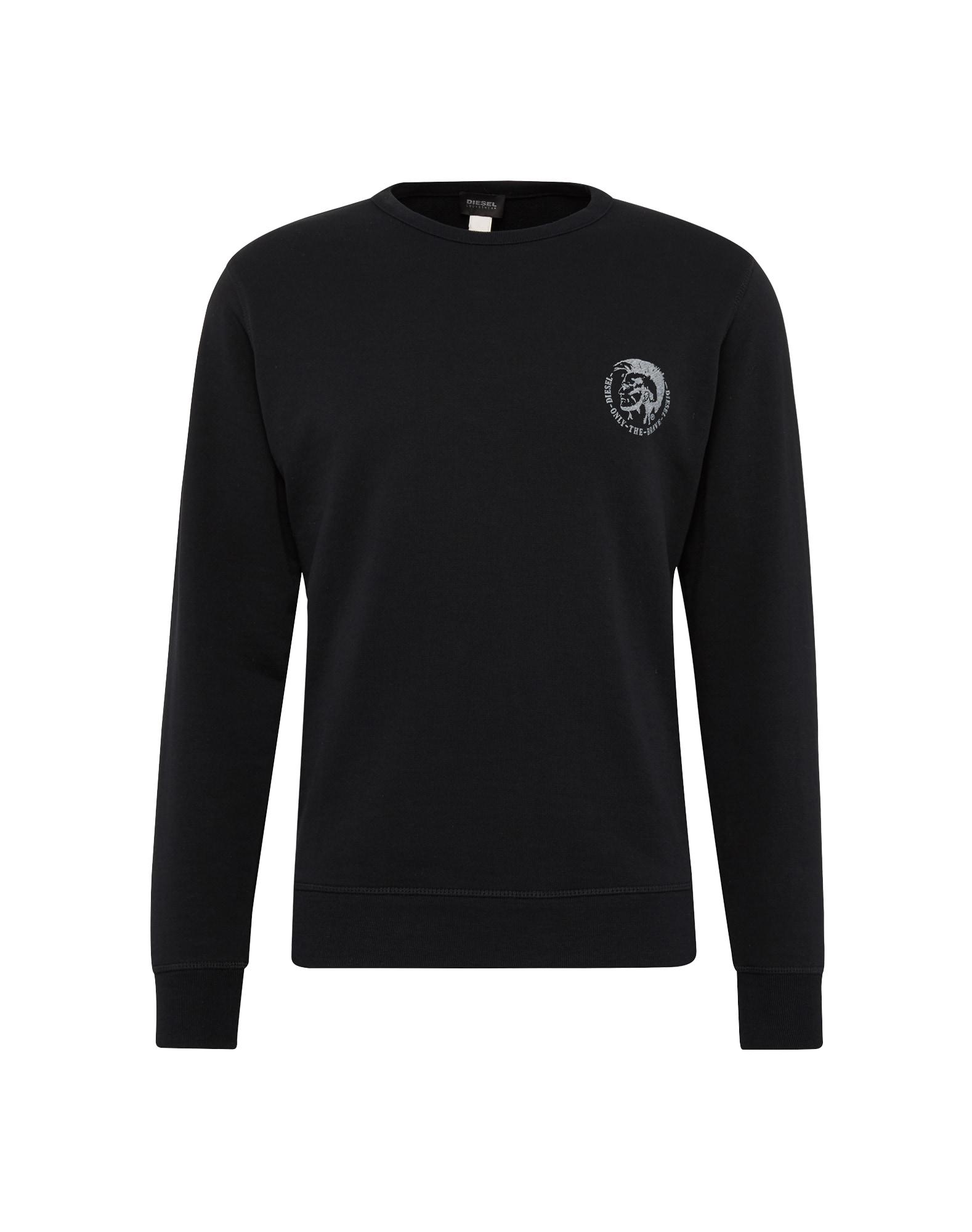 DIESEL Heren Sweatshirt UMLT Willy zwart