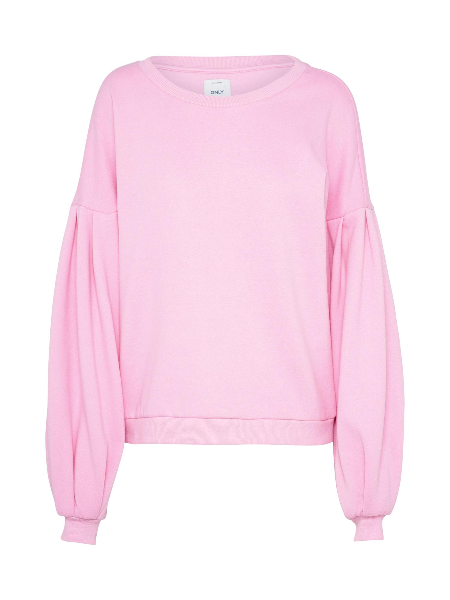 ONLY, Dames Sweatshirt 'ABSOLUTE', lichtroze
