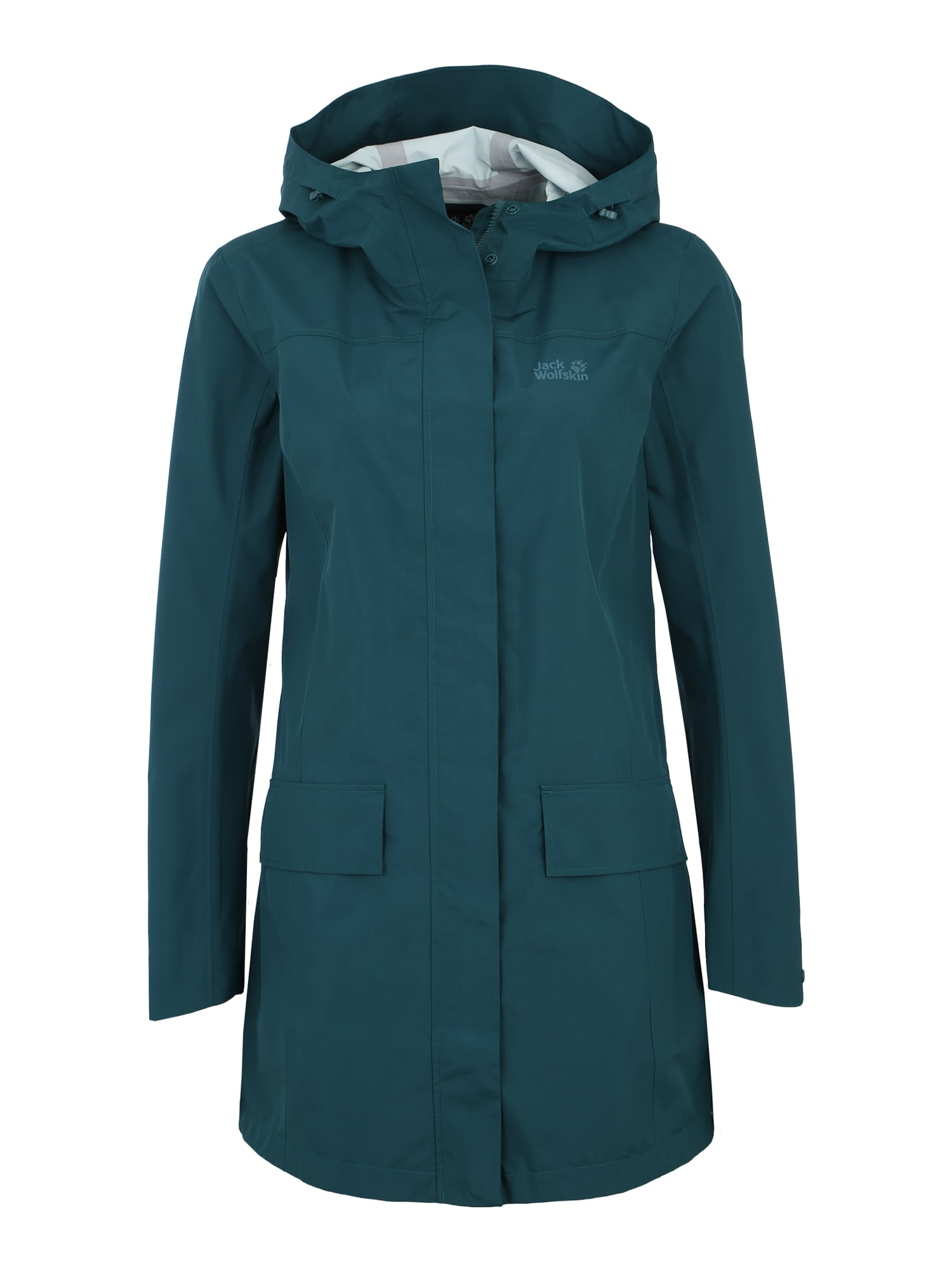 Outdoorový kabát Cape York nefritová JACK WOLFSKIN