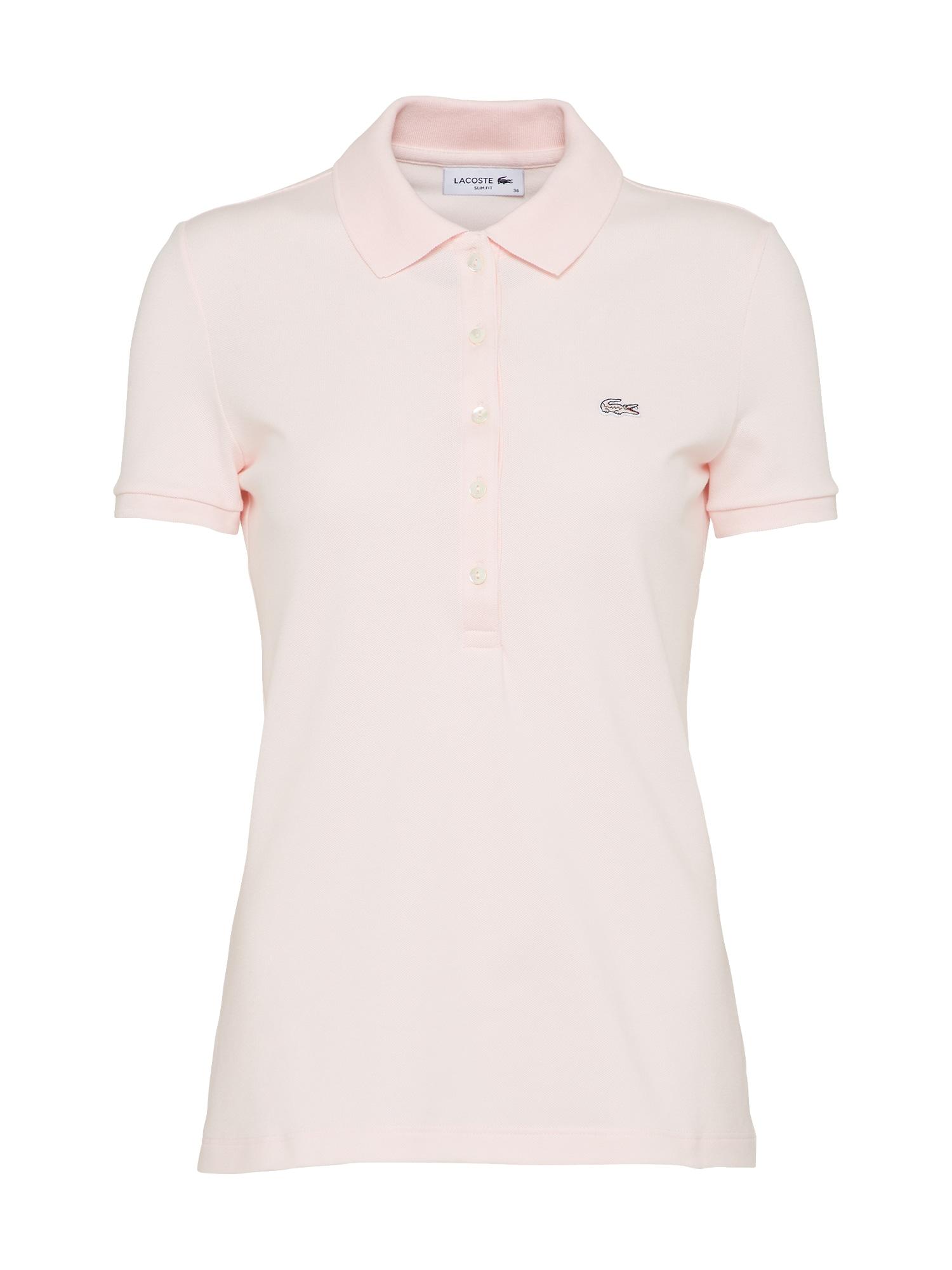Tričko Polo Shirt růžová LACOSTE