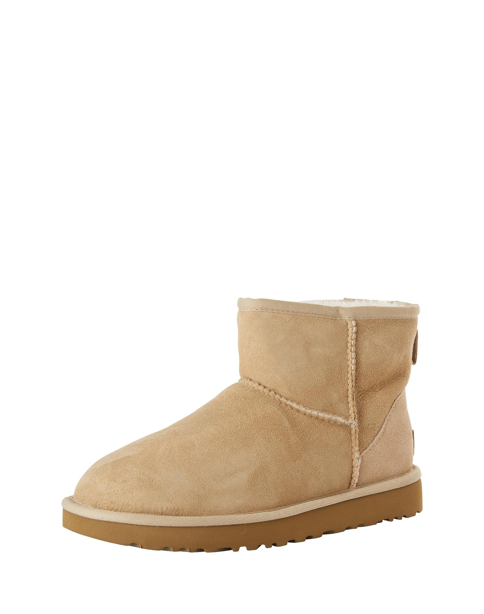 UGG, Dames Snowboots 'Classic Mini II', sand / bruin