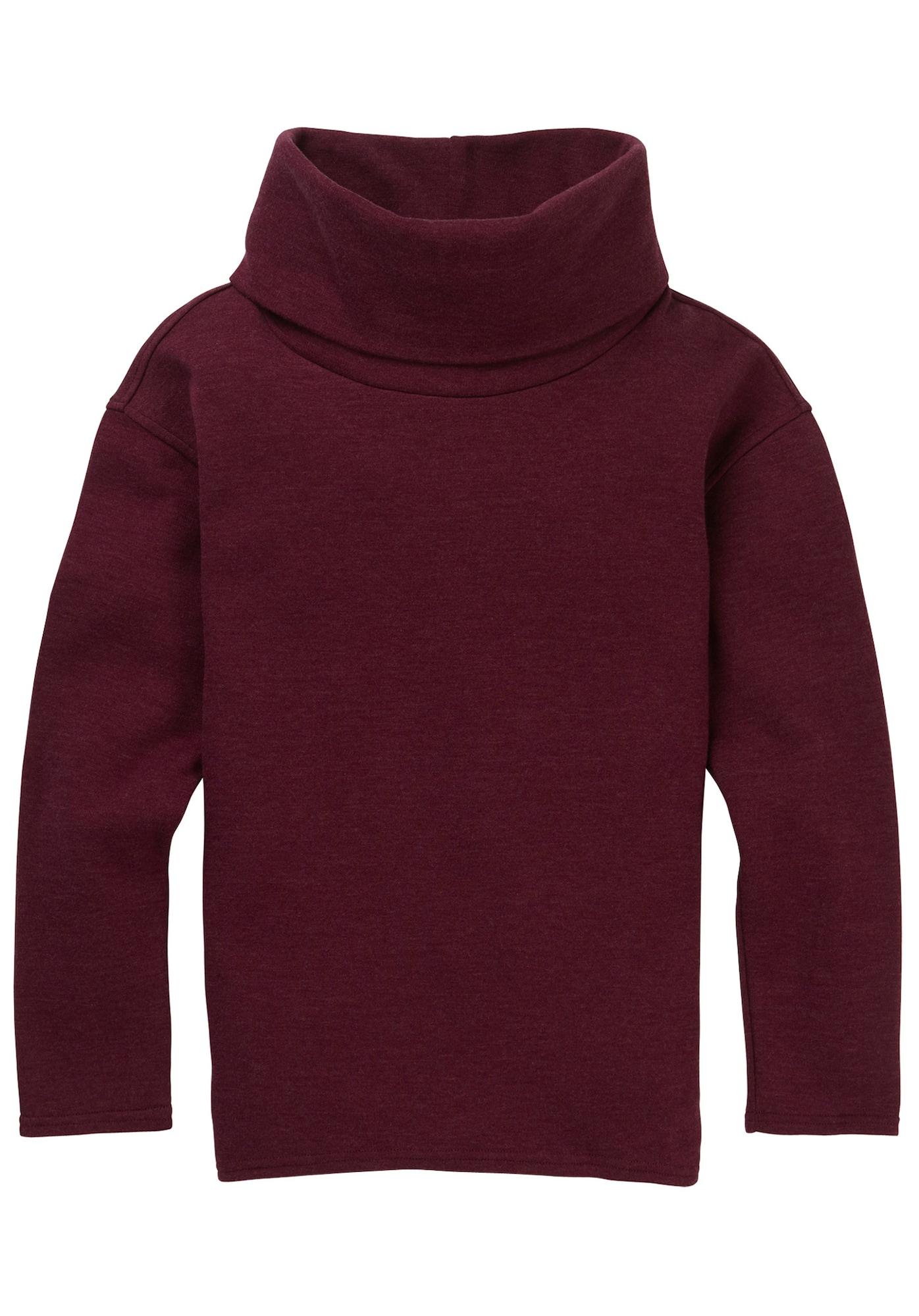 BURTON, Dames Sweatshirt 'Ellmore', kersrood