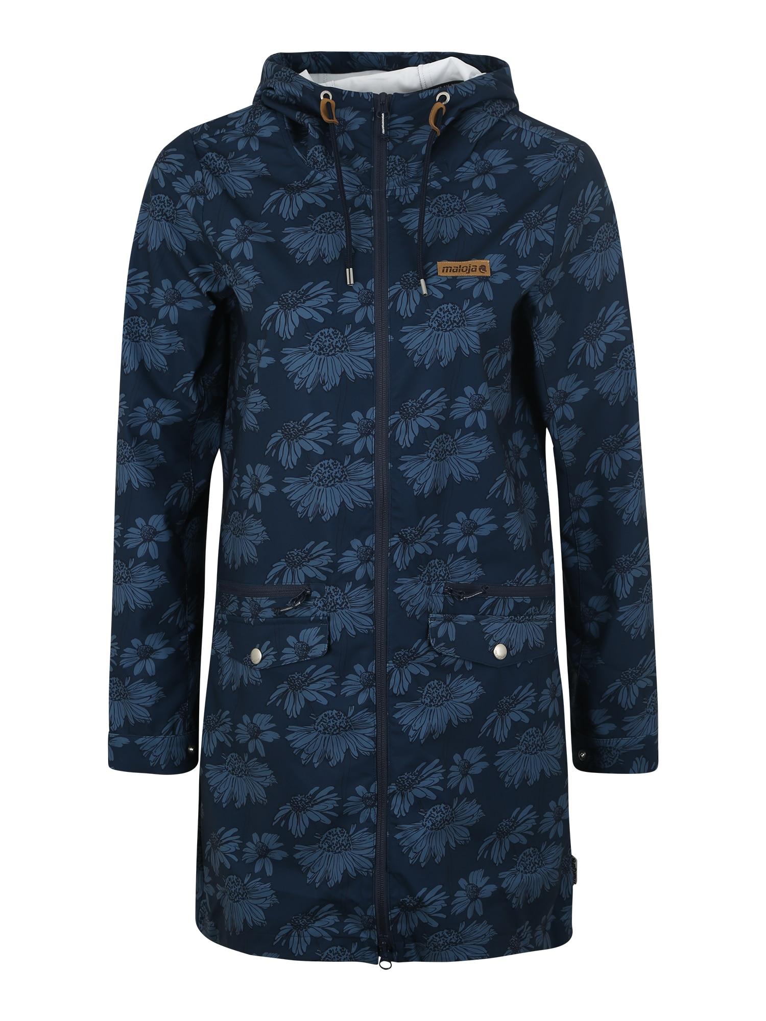 Outdoorový kabát MuranziaM. tmavě modrá Maloja
