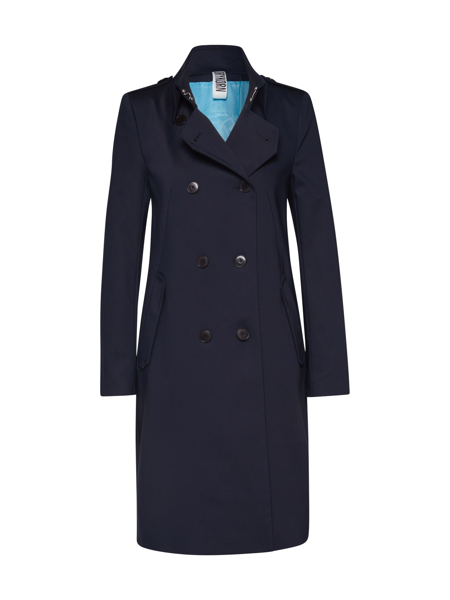 DRYKORN Prechodný kabát 'Buckey'  námornícka modrá