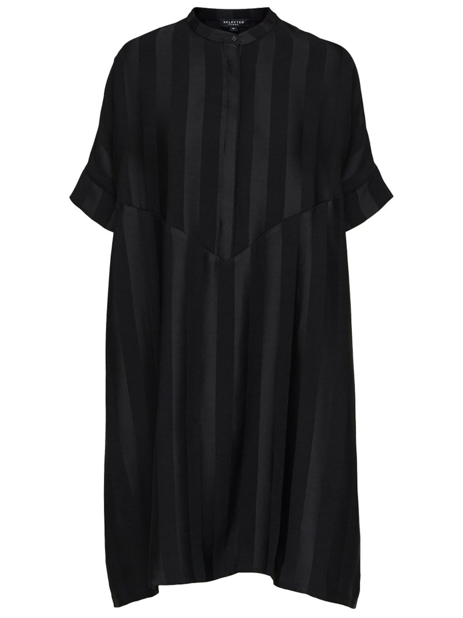 SELECTED FEMME Maxi šaty  černá
