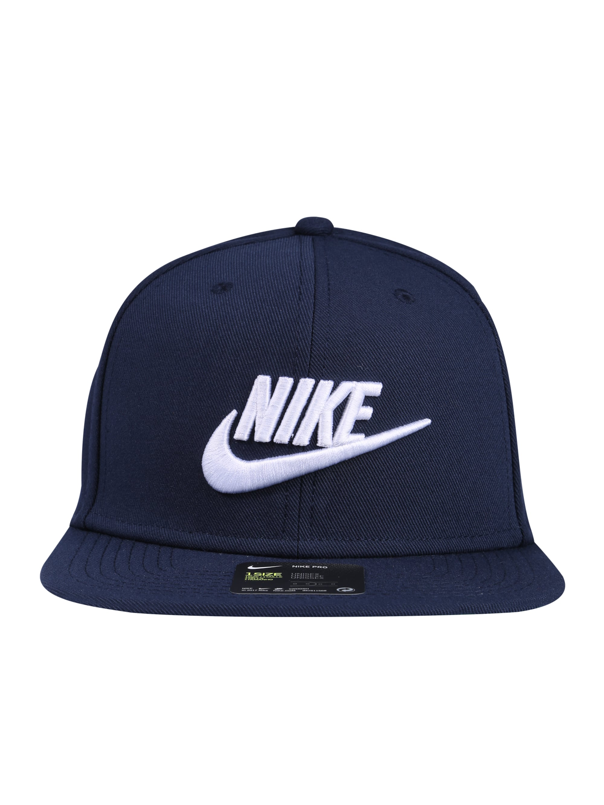 Nike Sportswear Czapka z daszkiem 'Pro'  niebieska noc / biały