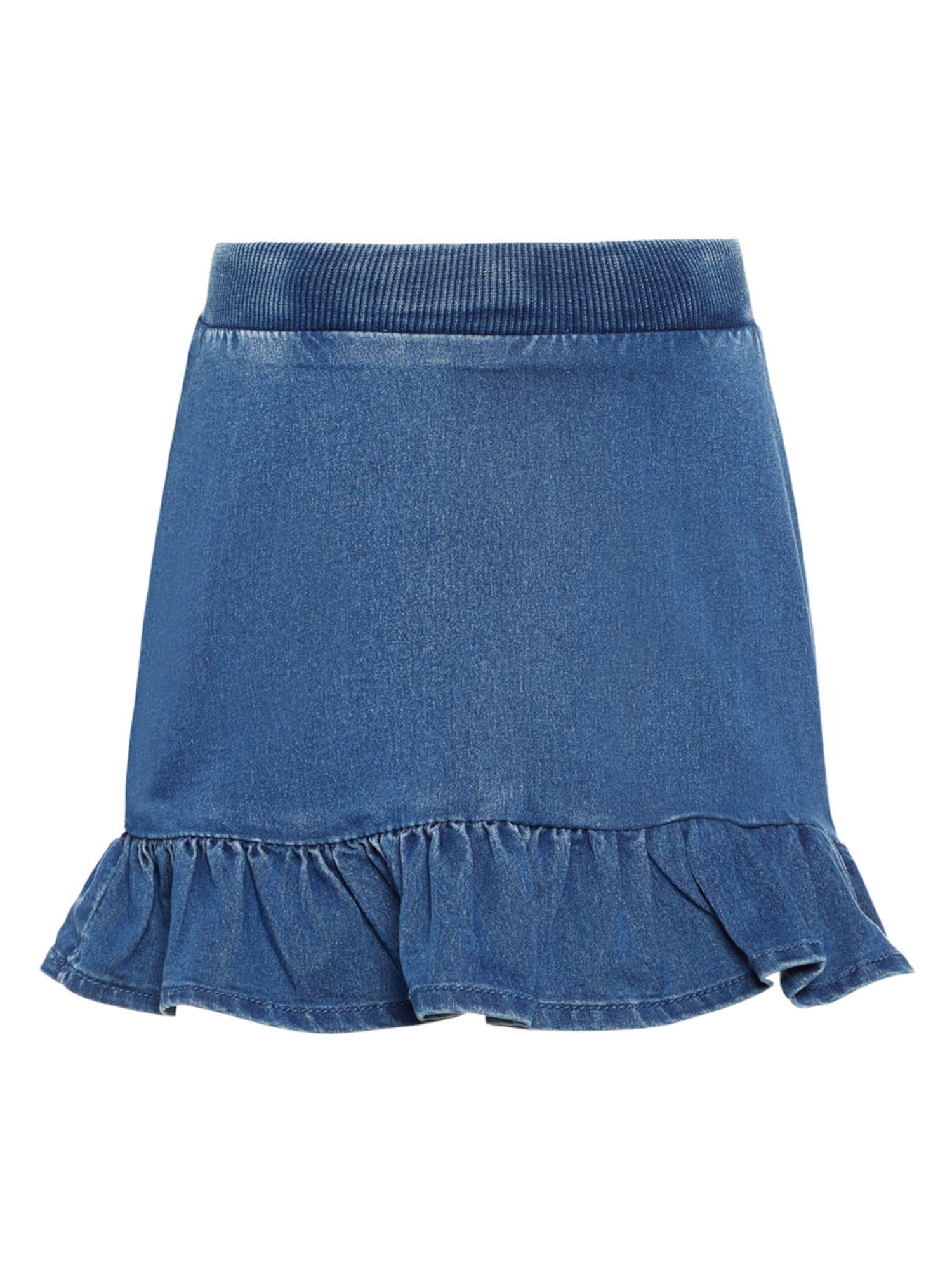 Name it Meisjes Rok blauw denim
