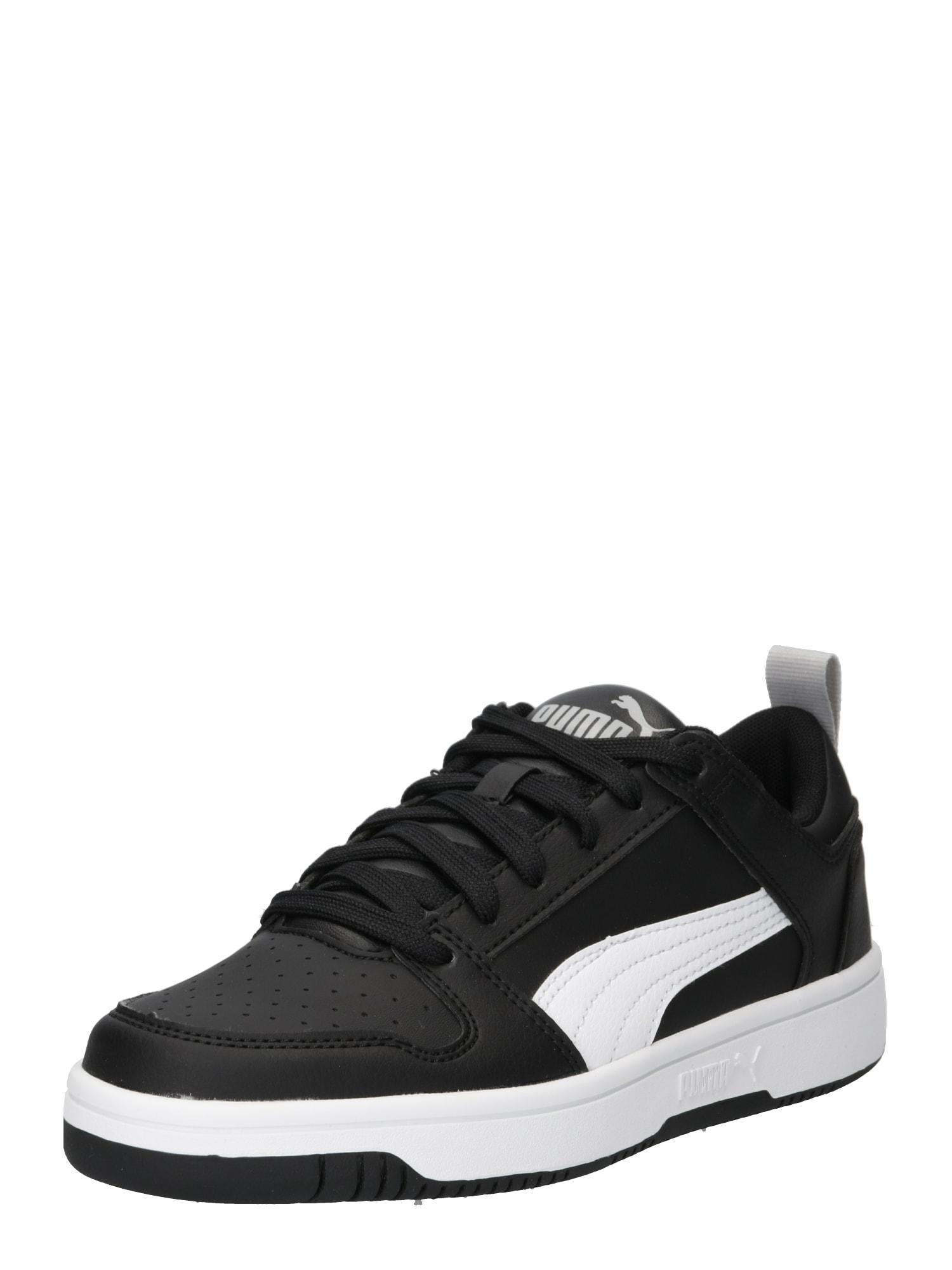 Sportovní boty Puma Rebound Layup Lo SL Jr černá bílá PUMA