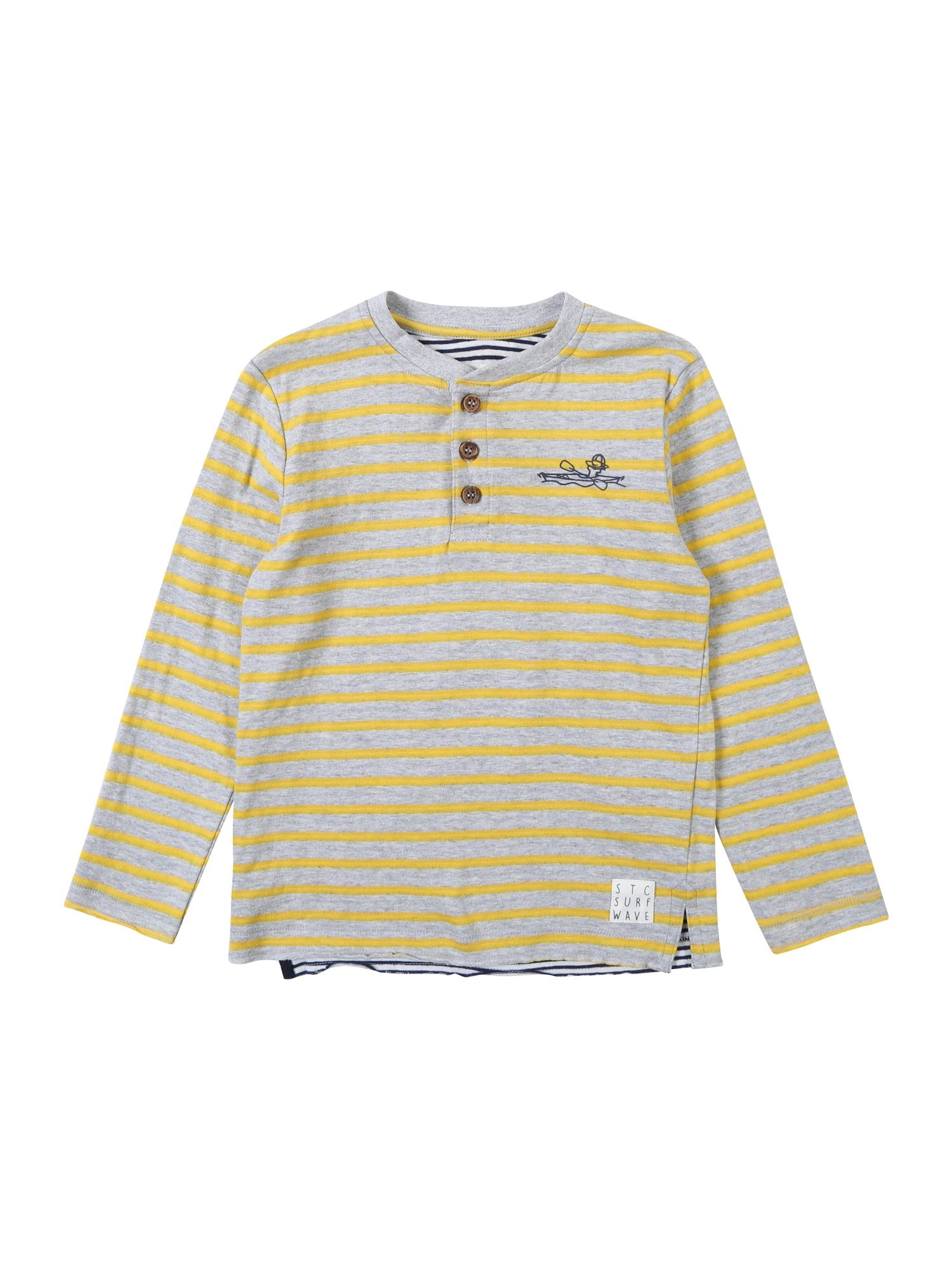 Tričko žlutá šedá STACCATO