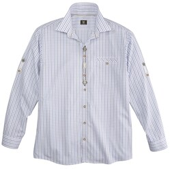 Trachtenhemd mit Krempelärmel