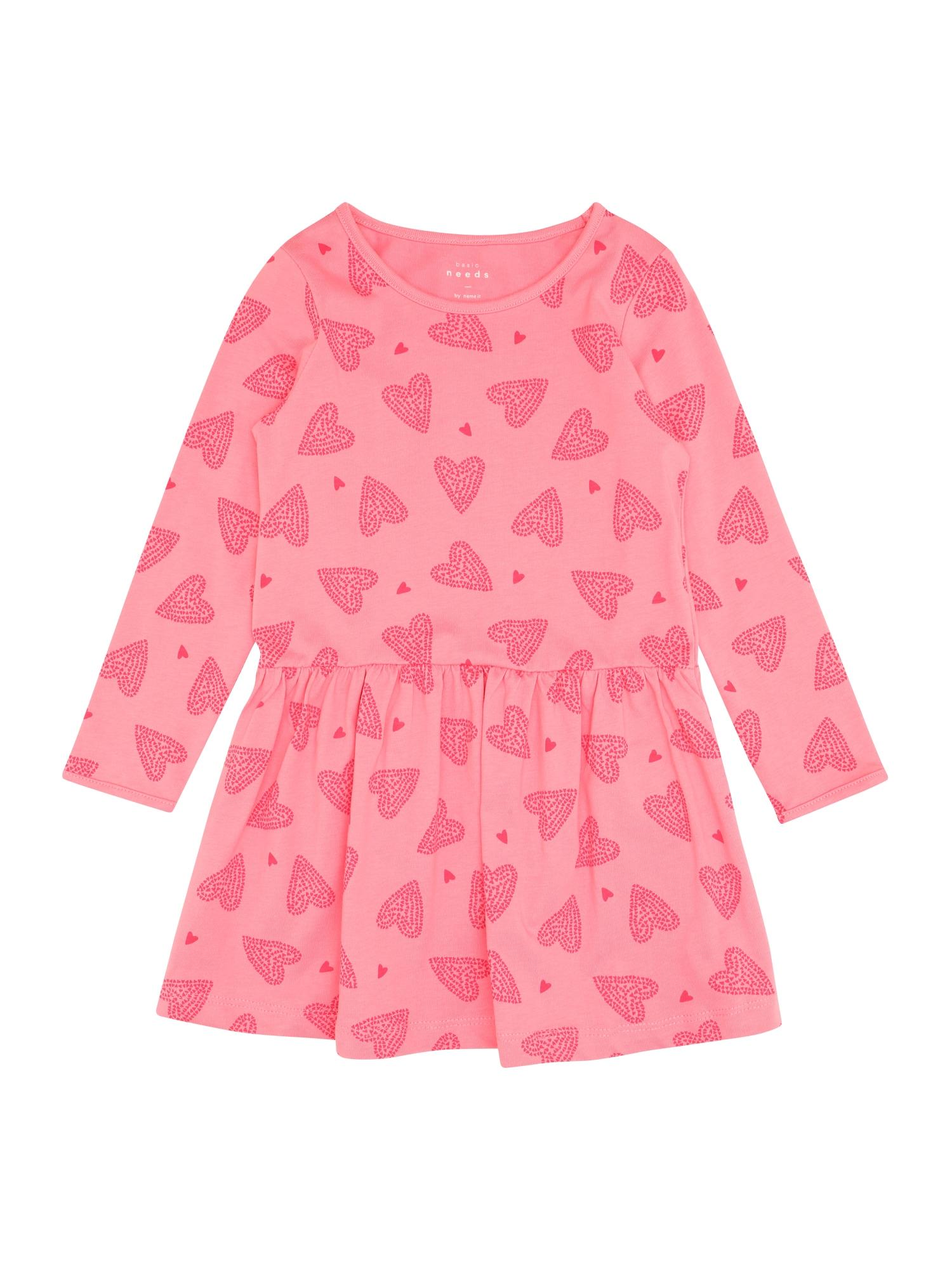 Name it Meisjes Jurk 'NMFVANYA LS DRESS O' pink
