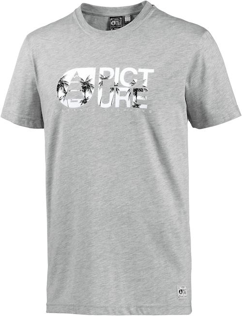 ´Basement Palm´ Printshirt Herren