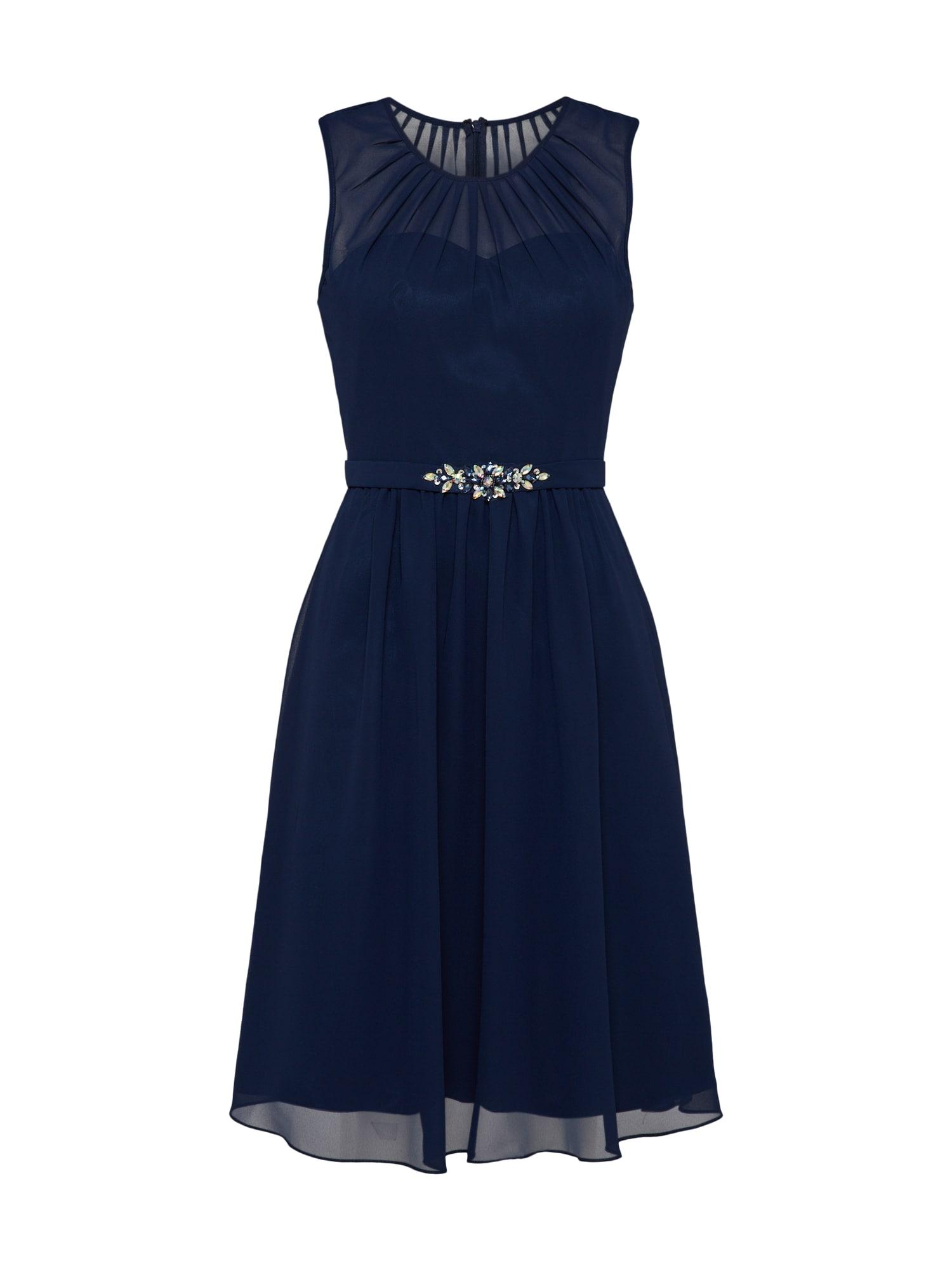 Mascara Sukienka koktajlowa  niebieska noc