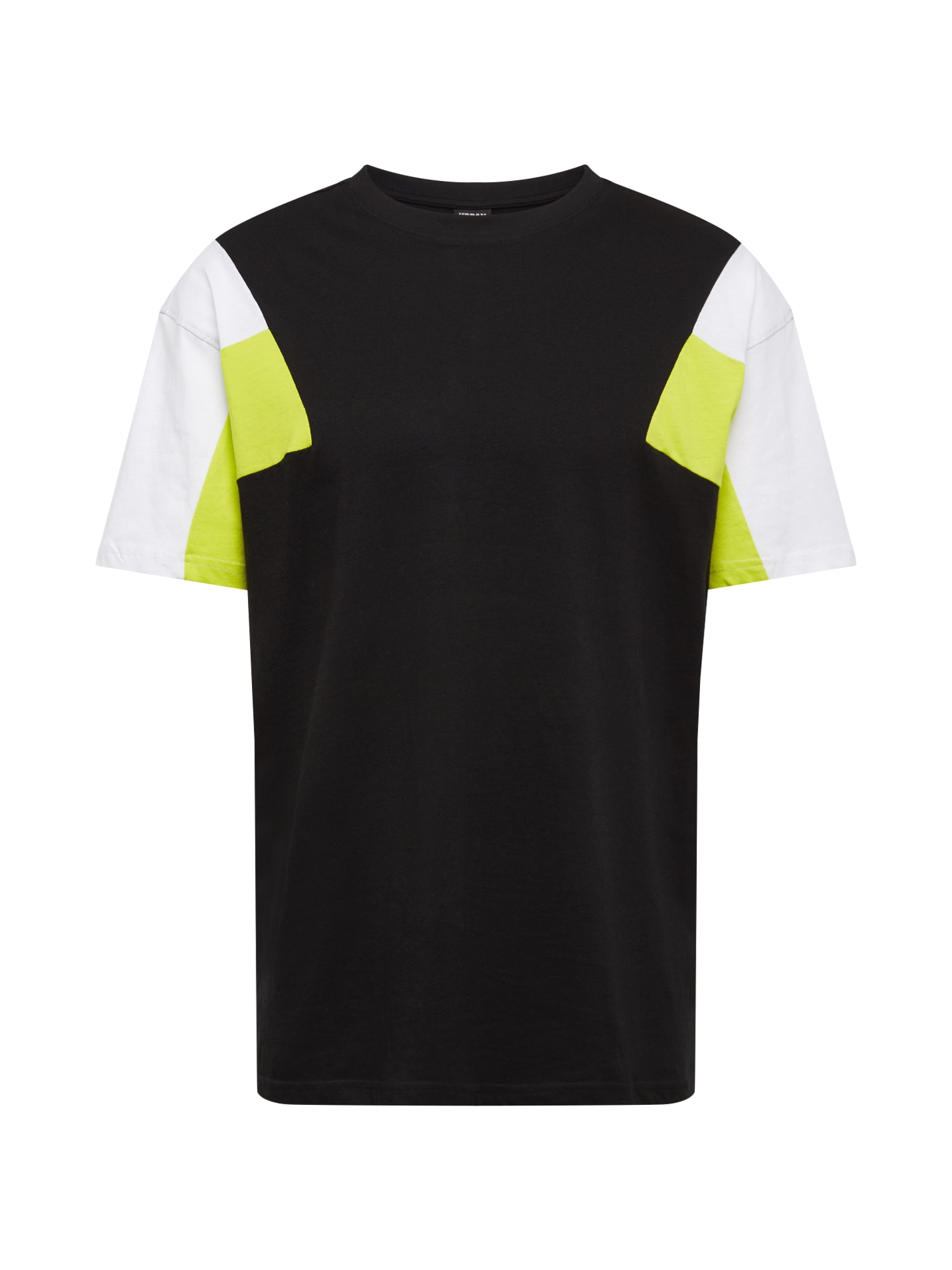 Tričko žlutá černá bílá Urban Classics