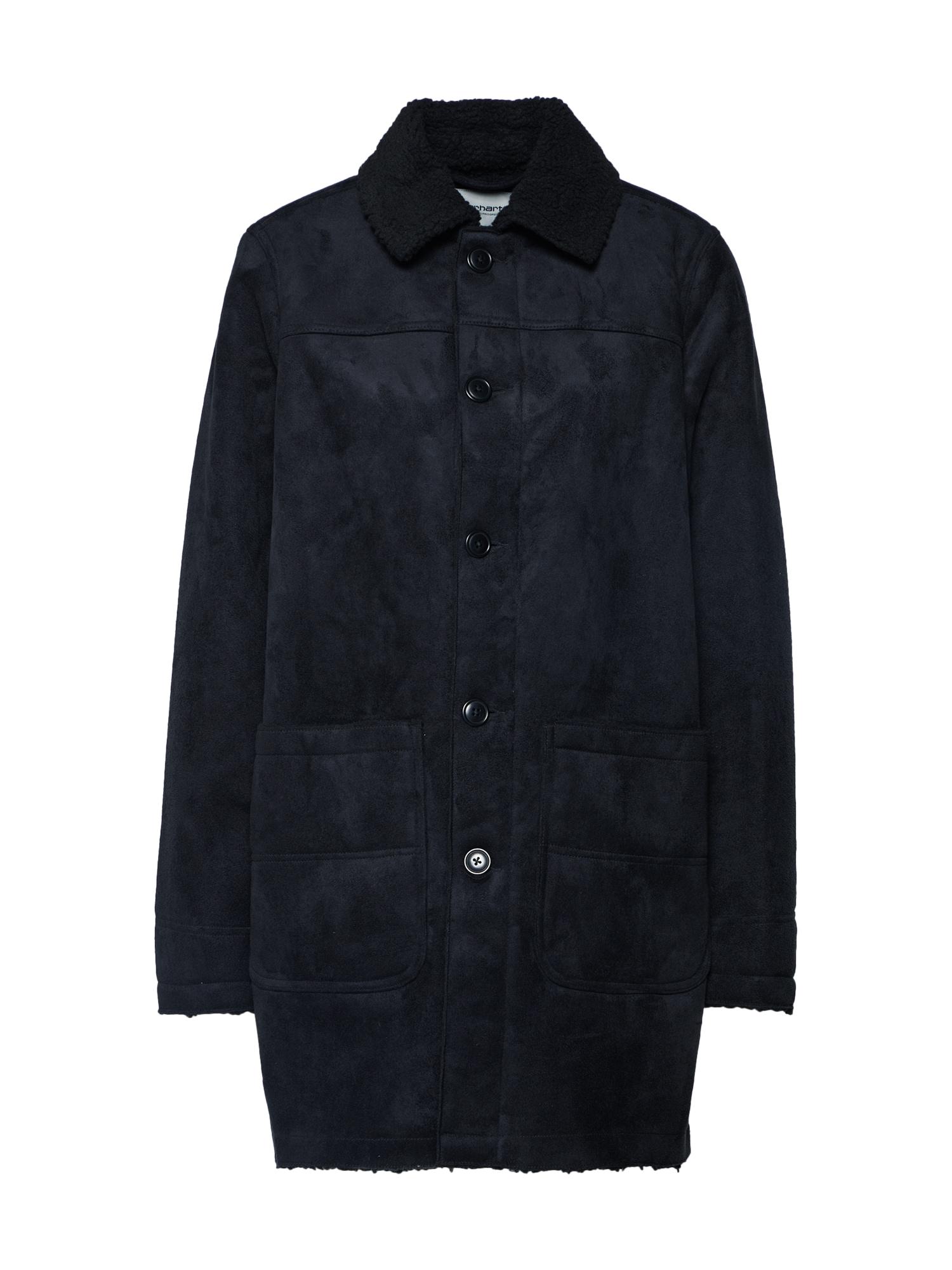Carhartt WIP Prechodná bunda 'Stone Coat'  čierna