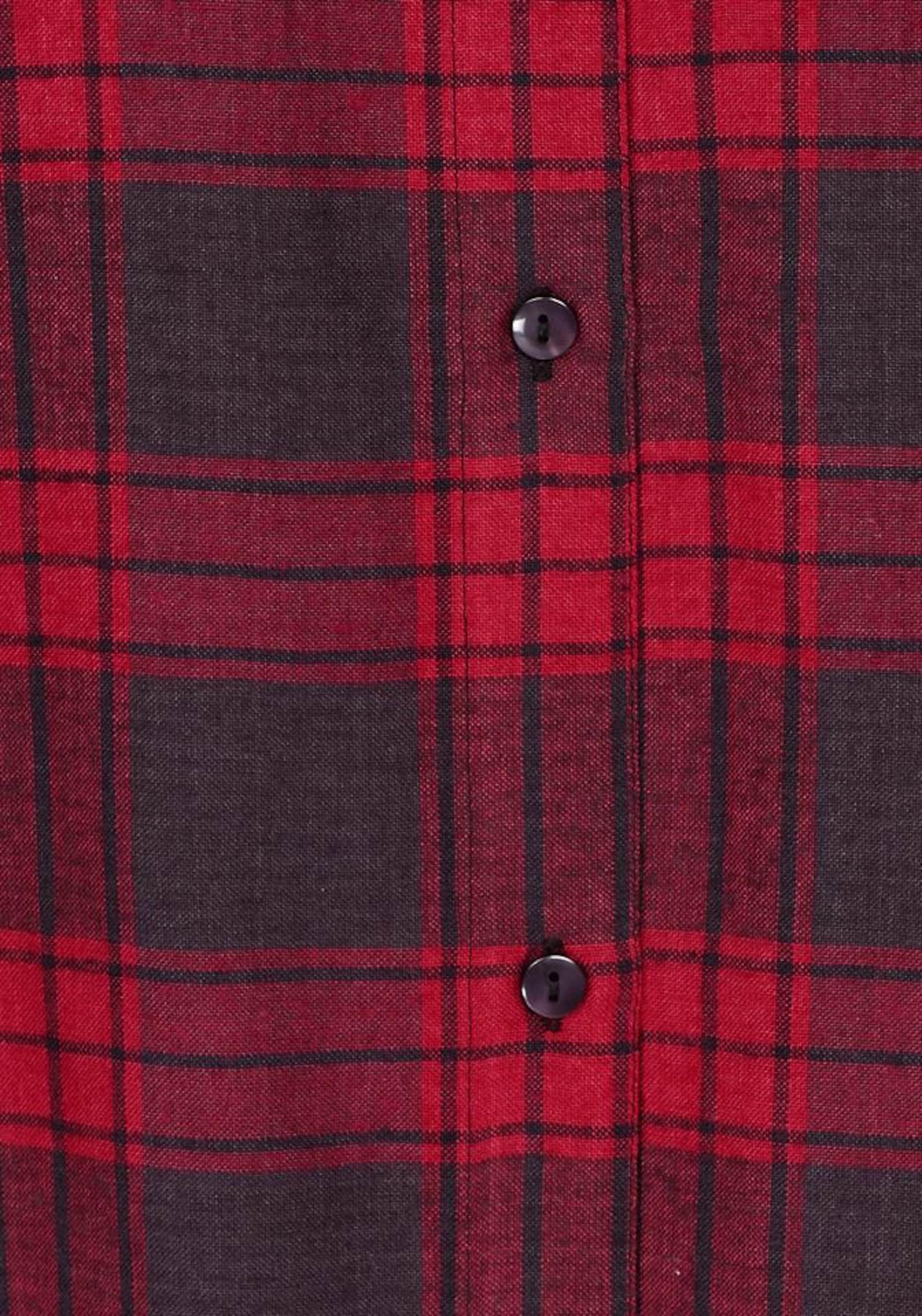 AJC Sukienka koszulowa  czerwony / czarny