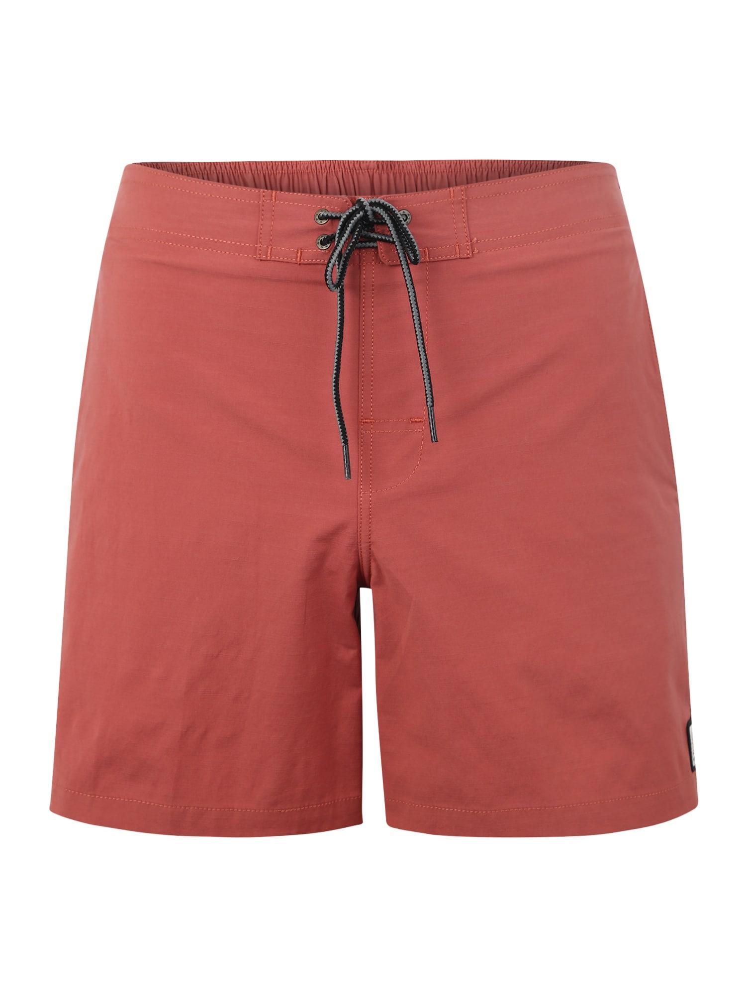 Plavecké šortky SEMI- ELASTICATED ERA 16 červená RIP CURL