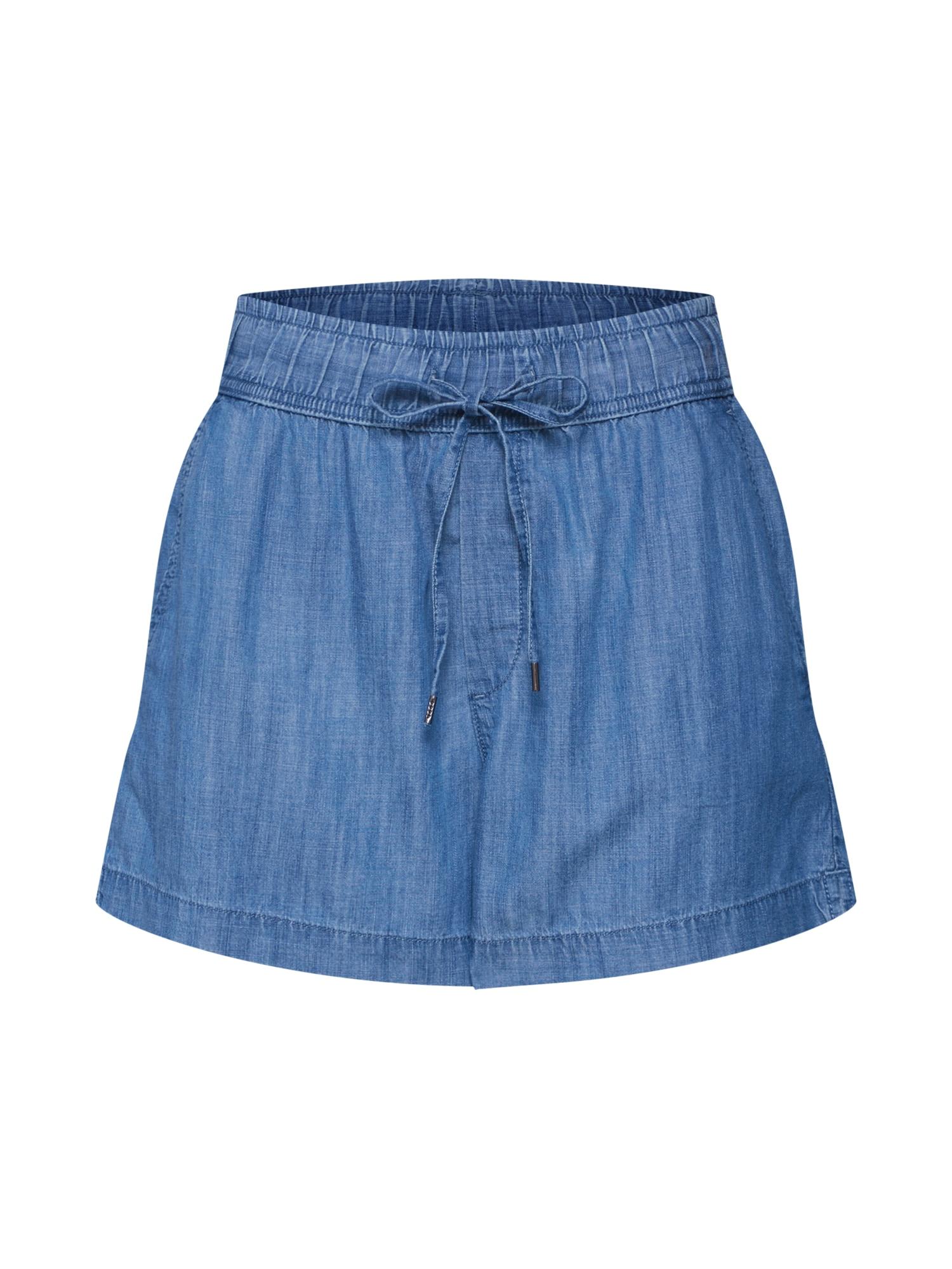 Kalhoty CHAMBRAY indigo GAP