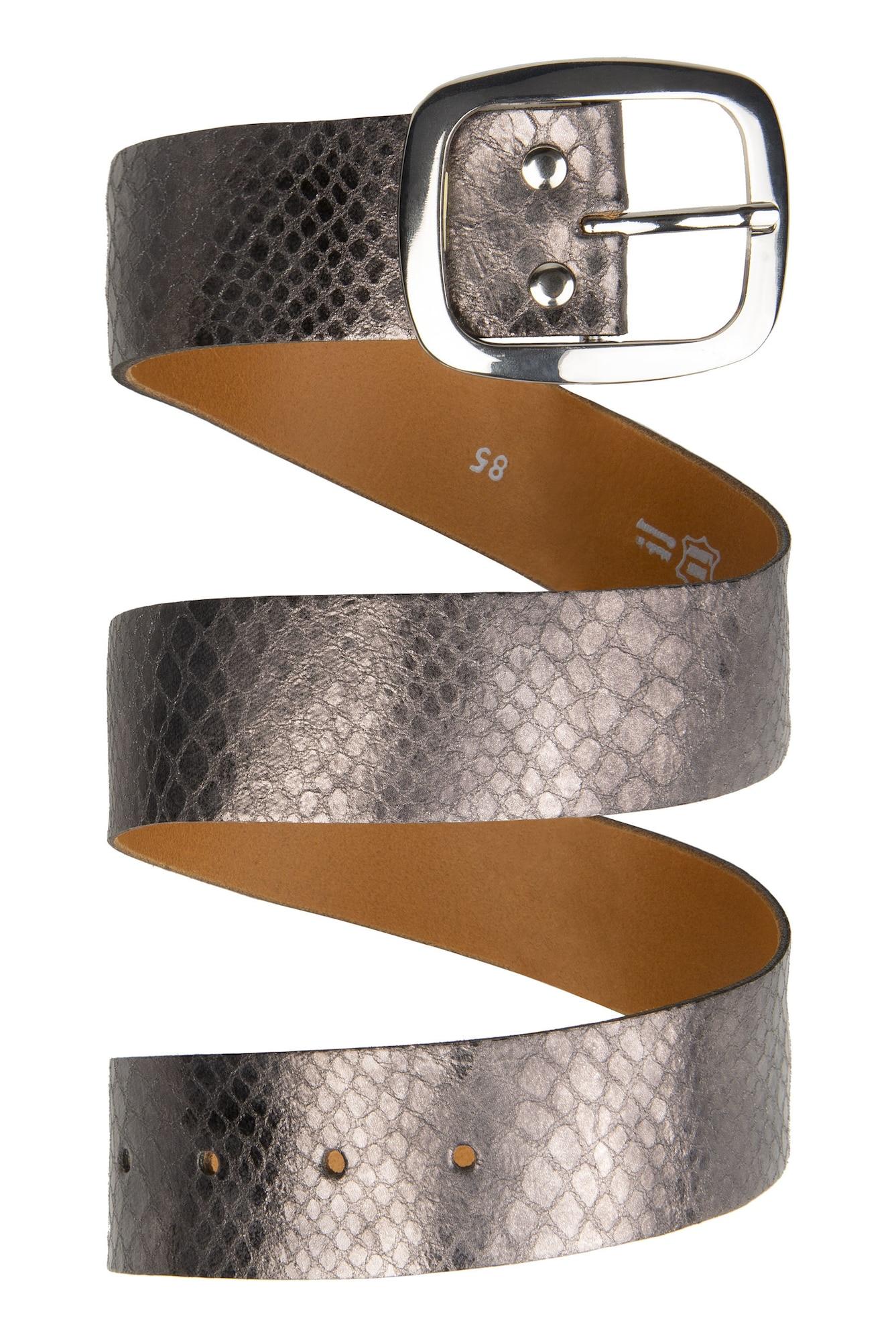 Ledergürtel | Accessoires > Gürtel > Ledergürtel | Silber | Soccx