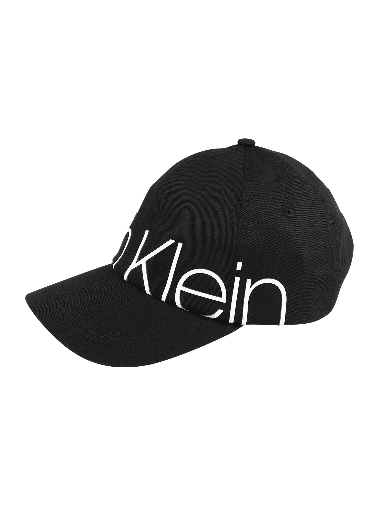 Kšiltovka TRAIL BIG LOGO CAP černá bílá Calvin Klein
