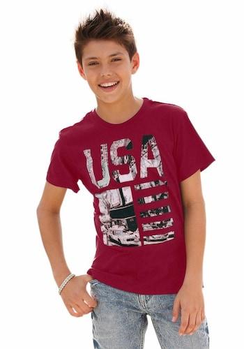 """T-Shirt """"USA"""" für Jungen"""