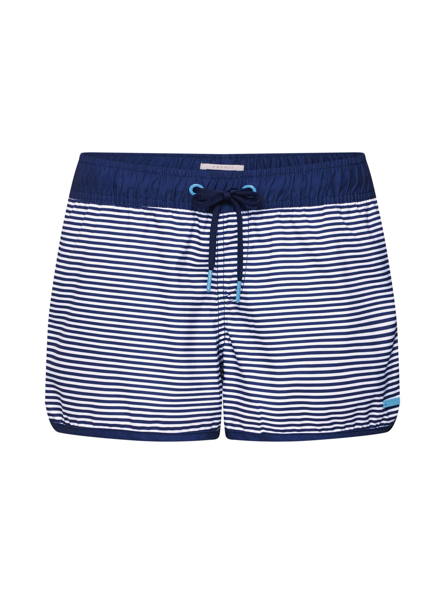 Plavecké šortky námořnická modř světlemodrá ESPRIT