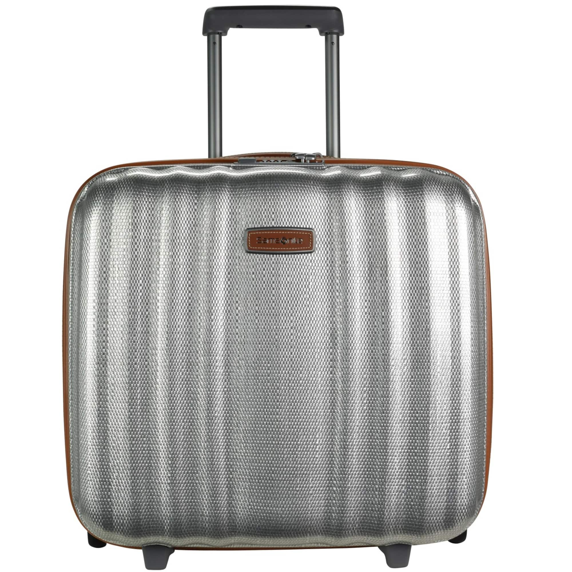 Lite-Cube DLX Upright 2-Rollen Businesstrolley 43 cm Laptopfach | Taschen > Businesstaschen > Business Trolleys | Silber | Samsonite