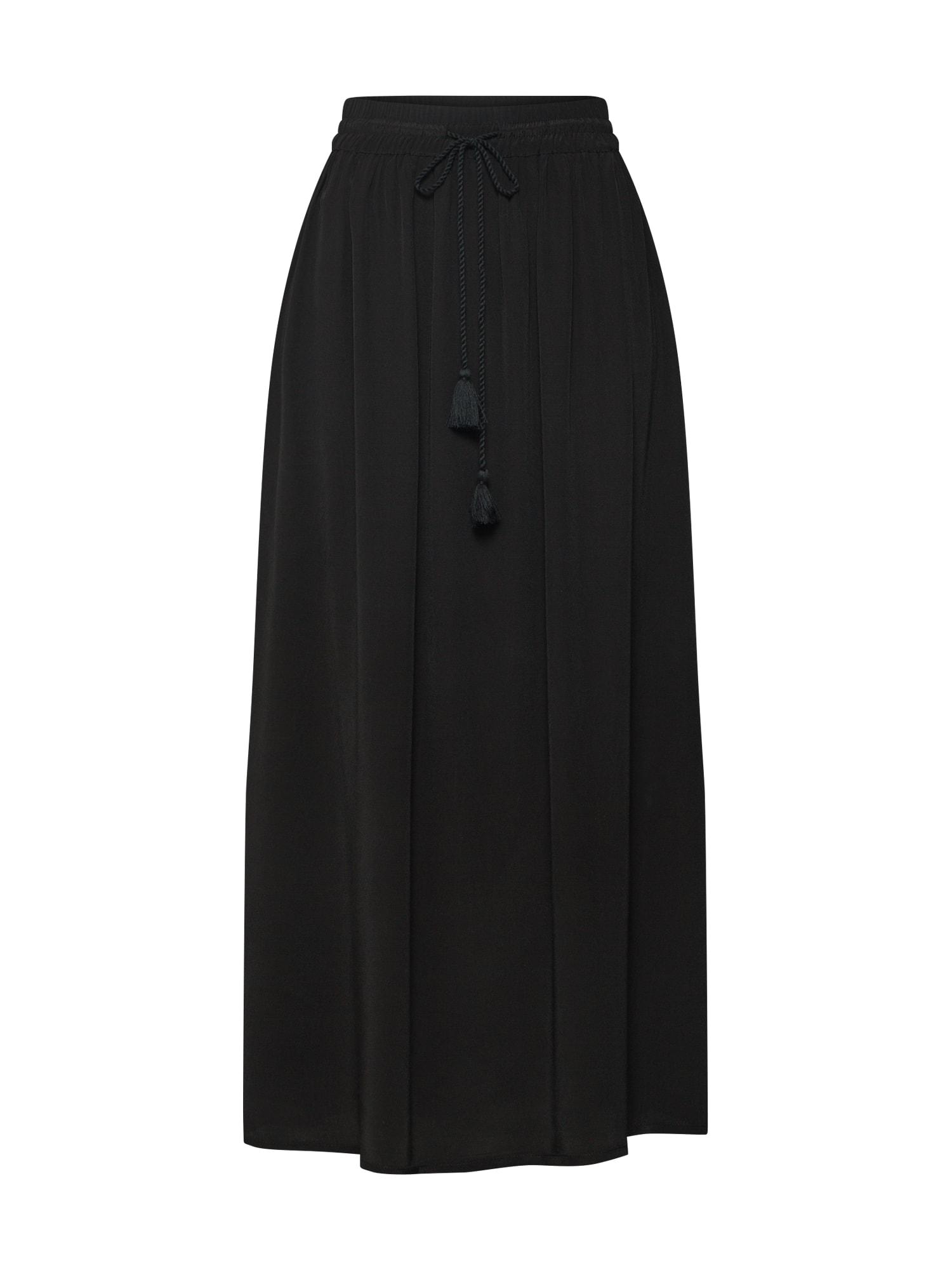 Sukně černá TOM TAILOR