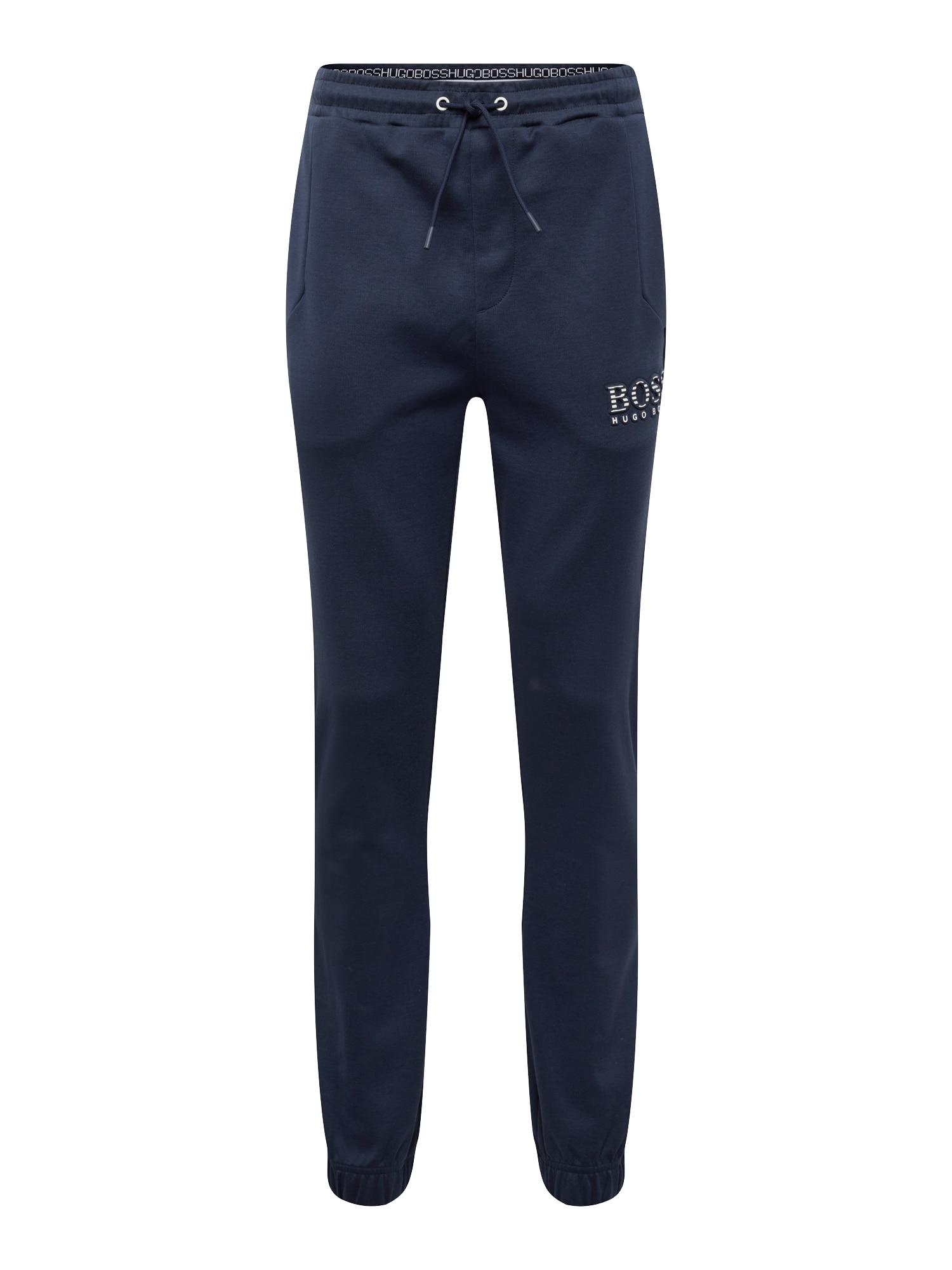 Kalhoty Hadiko 10134333 01 námořnická modř BOSS