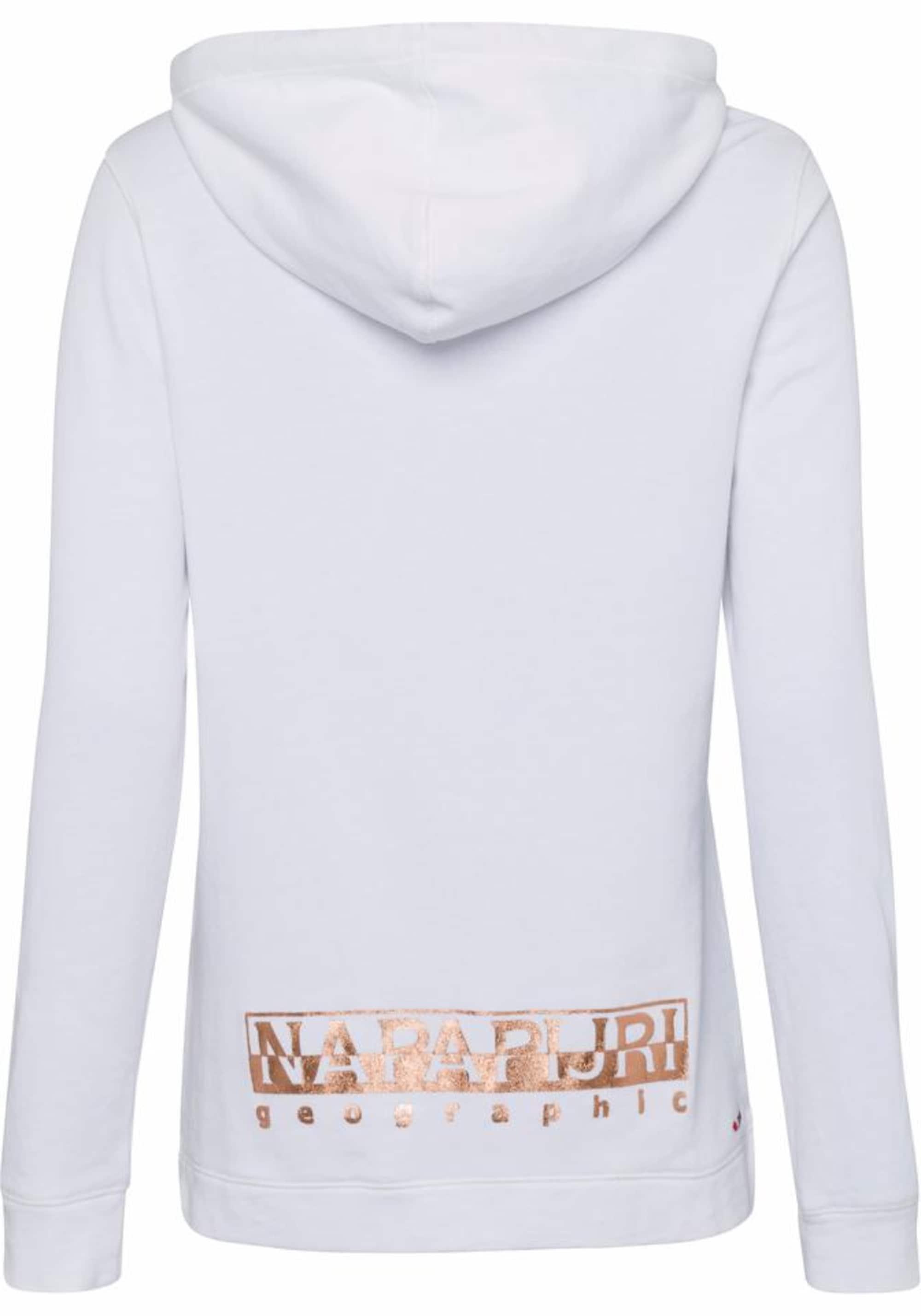 NAPAPIJRI Bluzka sportowa 'BACAU'  biały