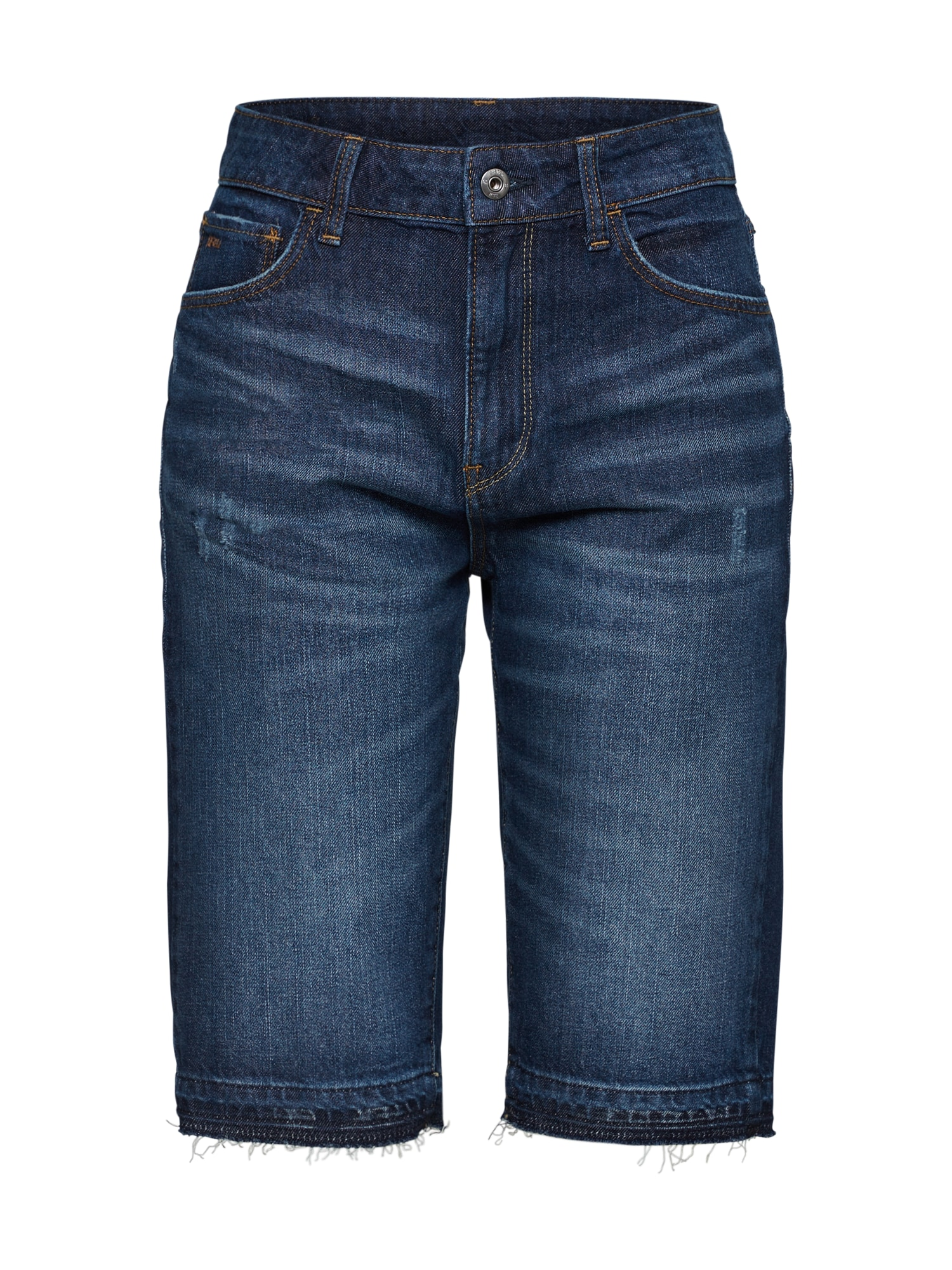 Džíny 3301 High Straight Short rp Wmn modrá džínovina G-STAR RAW