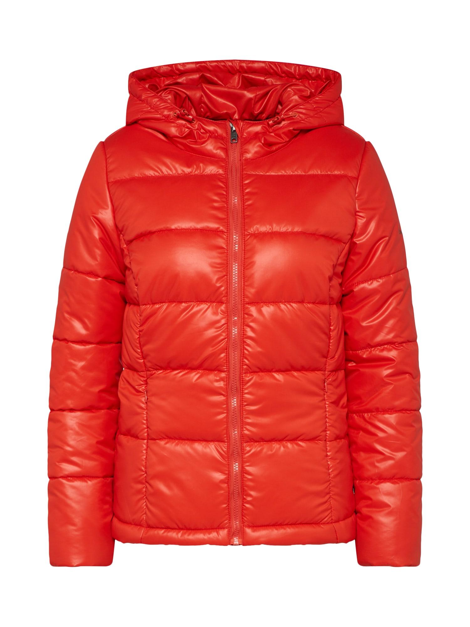 Přechodná bunda CANDY  červená Pepe Jeans