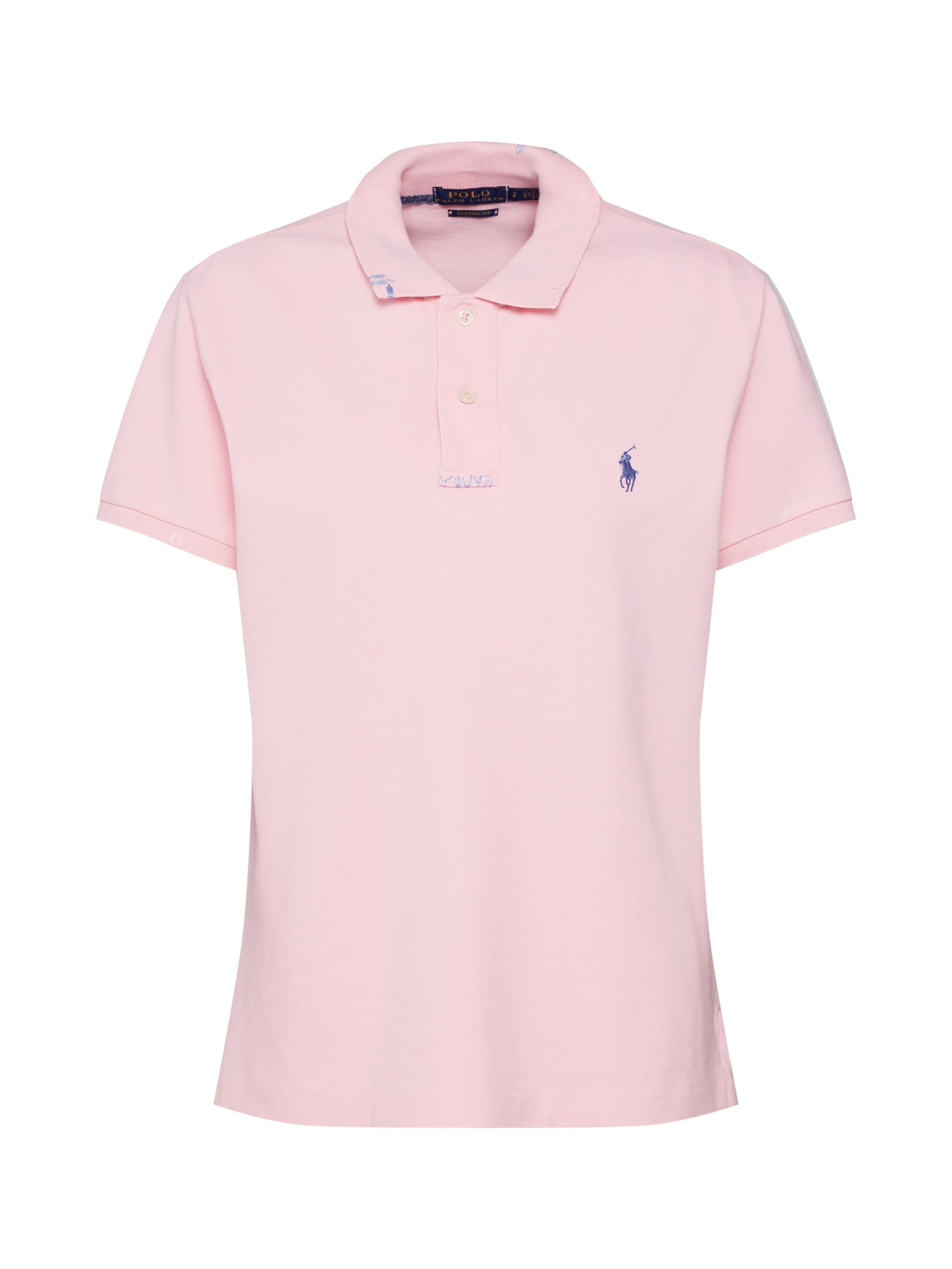 Tričko FIT RM-CLASSIC-SHORT SLEEVE-KNIT fialová POLO RALPH LAUREN