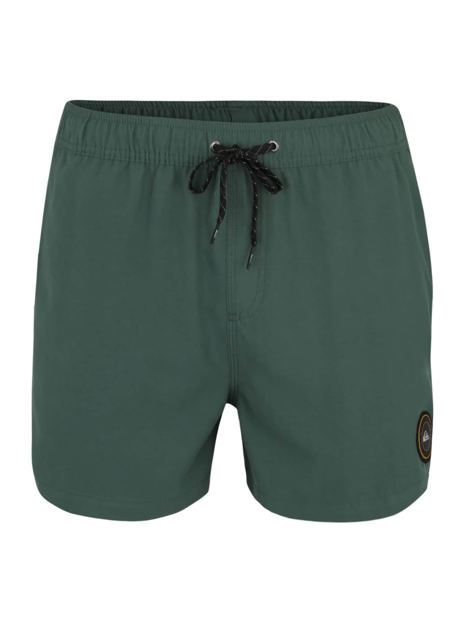 Plavecké šortky Everyday 15 tmavě zelená QUIKSILVER