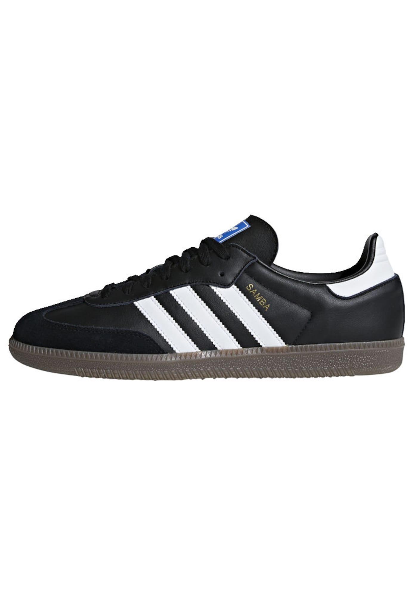 ADIDAS ORIGINALS, Dames Sneakers laag 'Samba Og', zwart / wit