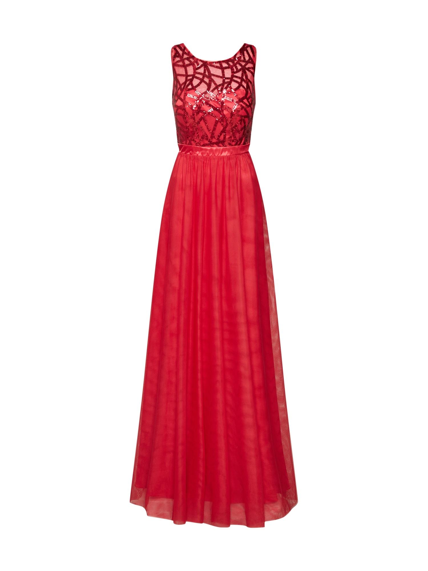 Společenské šaty světle červená VM Vera Mont
