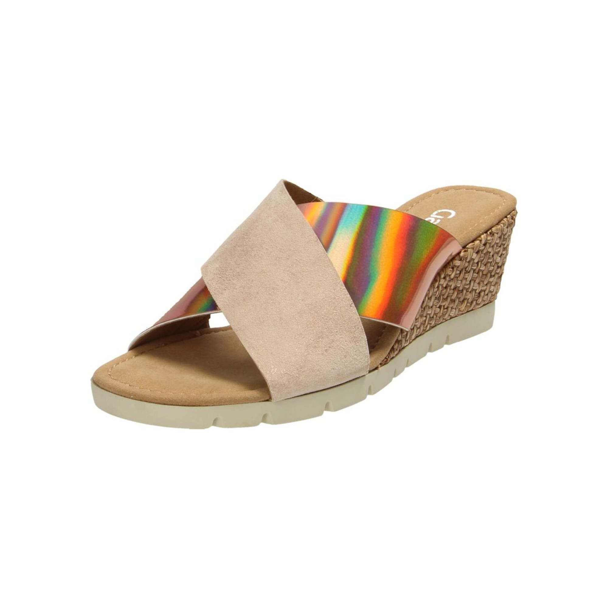 Pantoletten | Schuhe > Clogs & Pantoletten | Hellbeige | Gabor