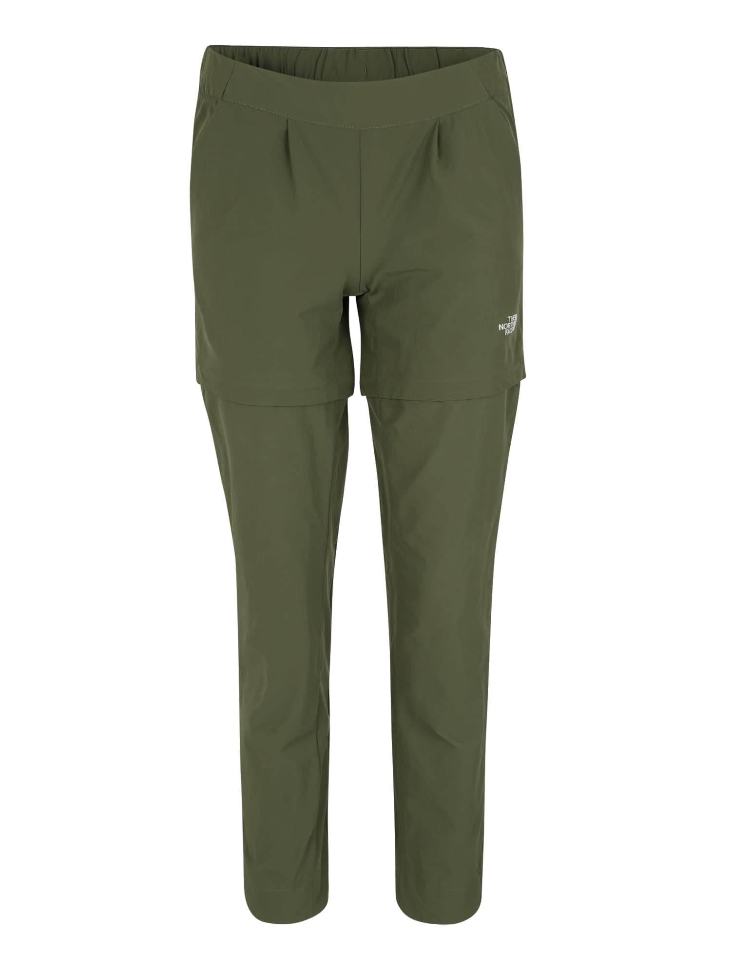 Outdoorové kalhoty W INLUX CNVRTBL PT olivová THE NORTH FACE