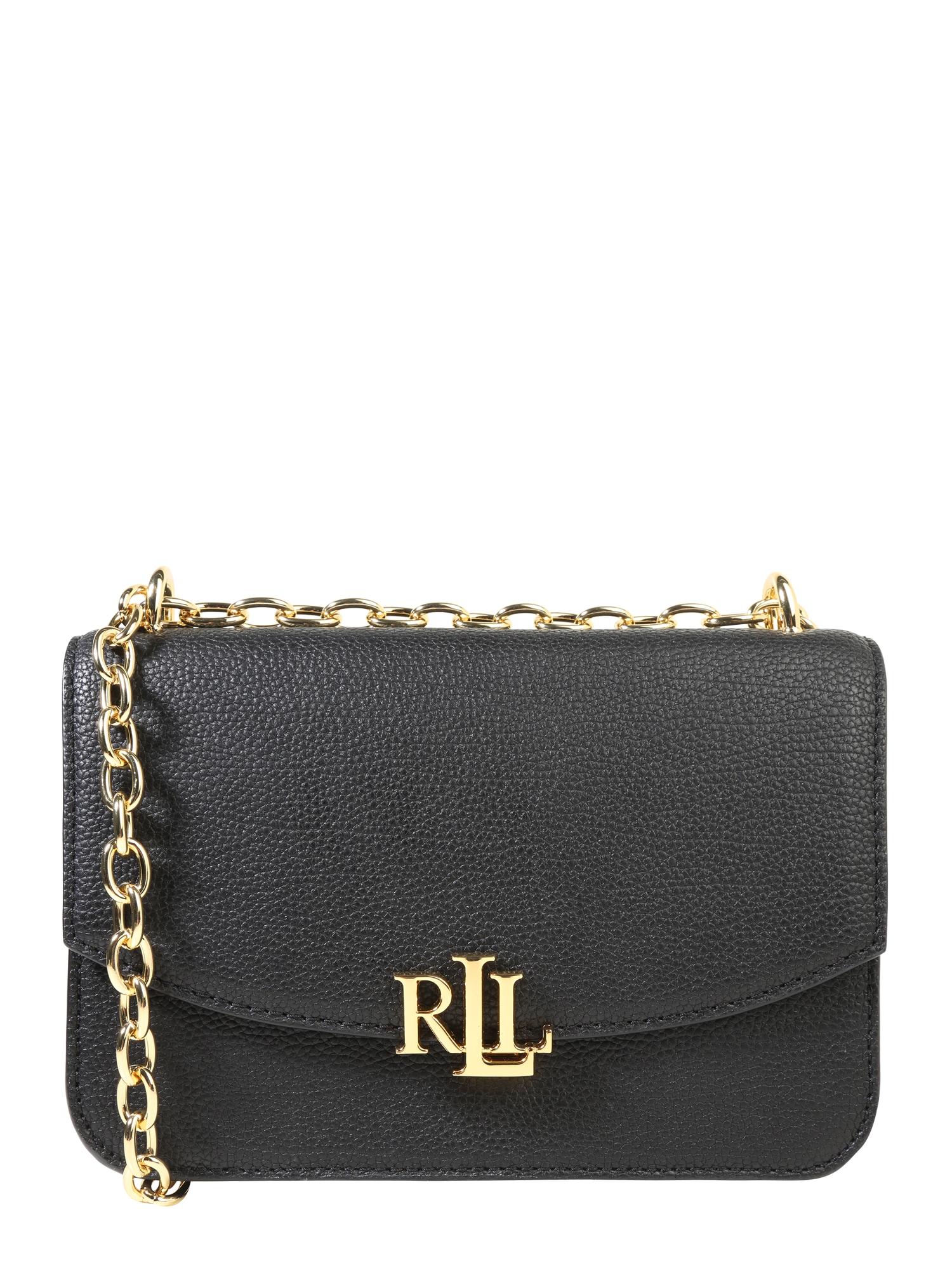 Taška přes rameno MADISON 22 černá Lauren Ralph Lauren