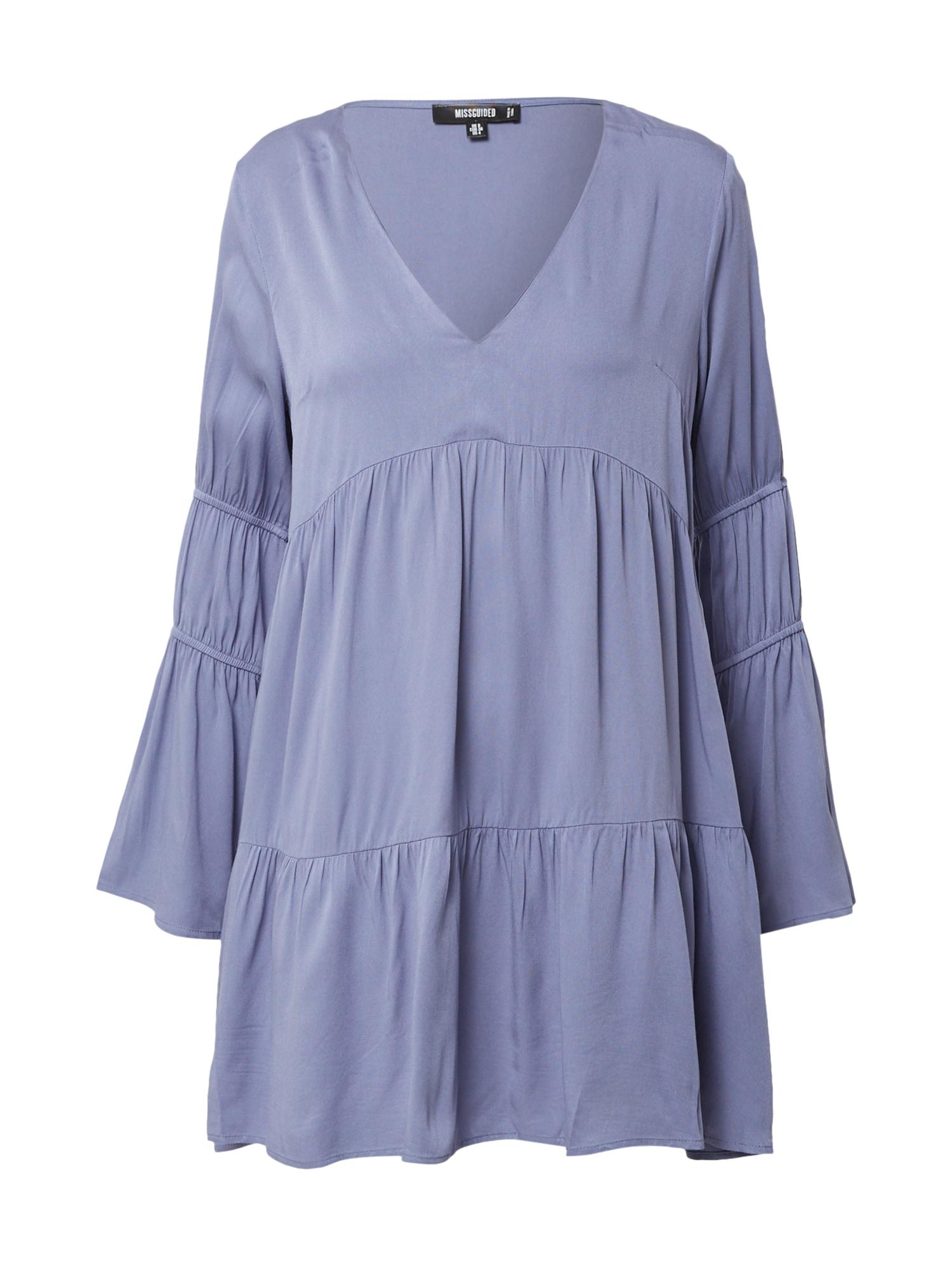 Missguided Letní šaty  modrá