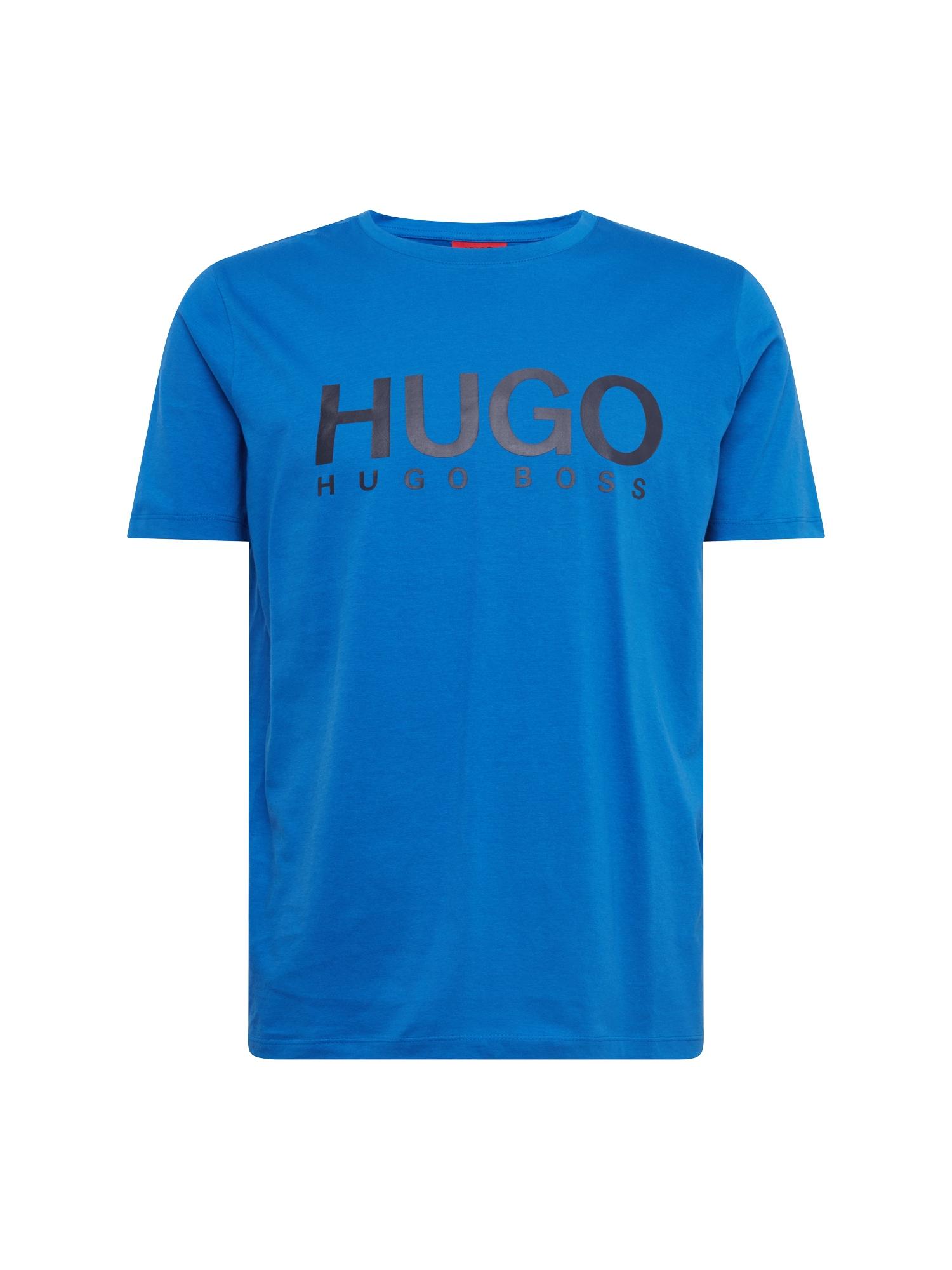 Tričko Dolive-U2 10182493 01 modrá HUGO
