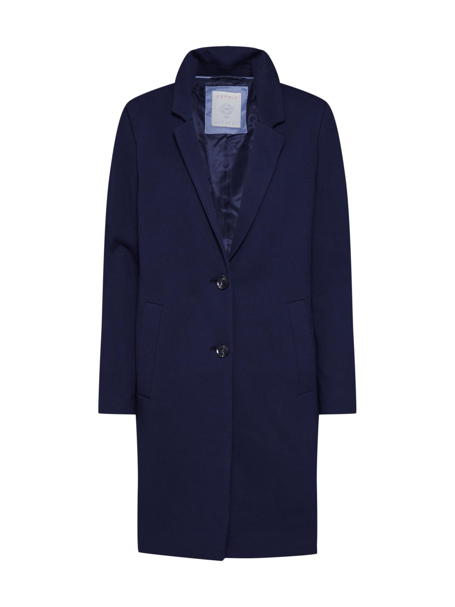 ESPRIT Přechodný kabát 'Blazer Coat'  námořnická modř