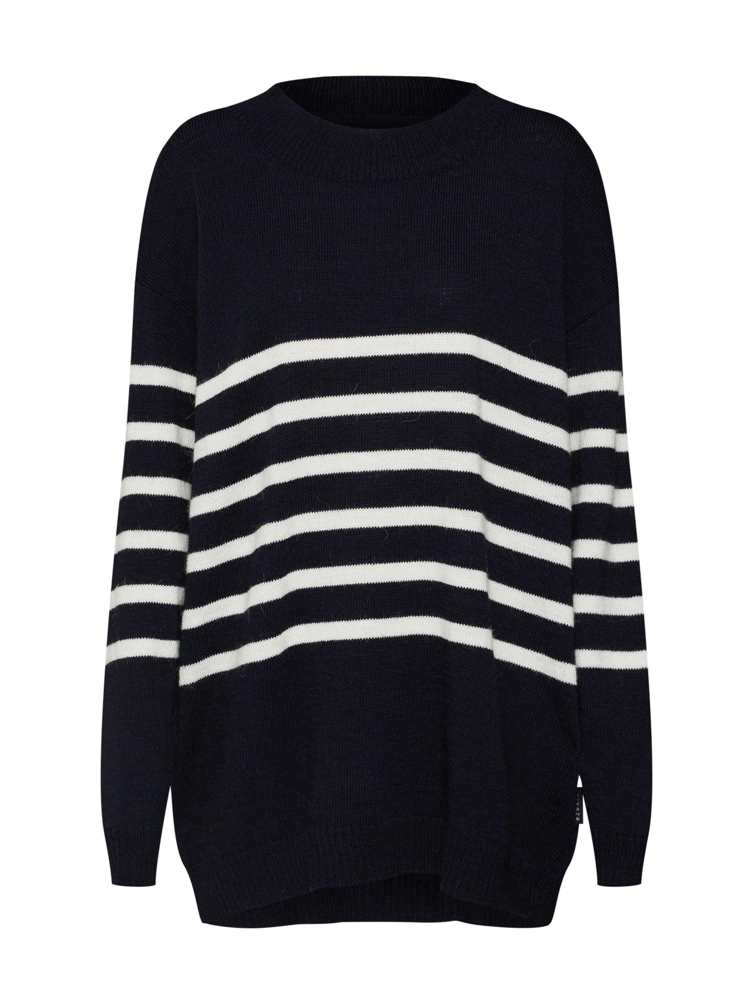 Maxi svetr Laurie Oversize Knit Sweater námořnická modř Ezekiel