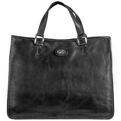 Leder Handtasche 'Saddlery Donna'