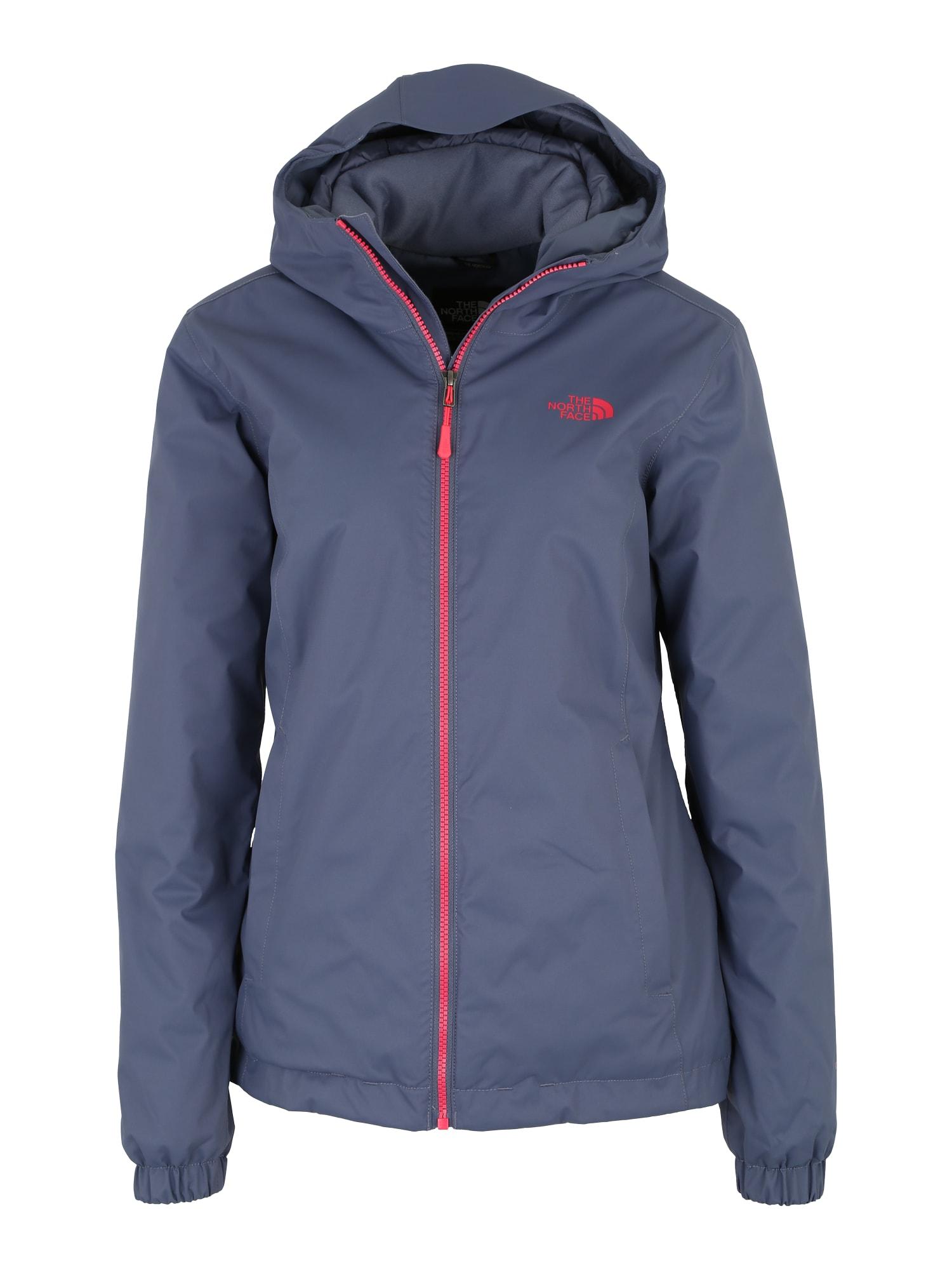 Outdoorová bunda Quest modrá oranžově červená THE NORTH FACE