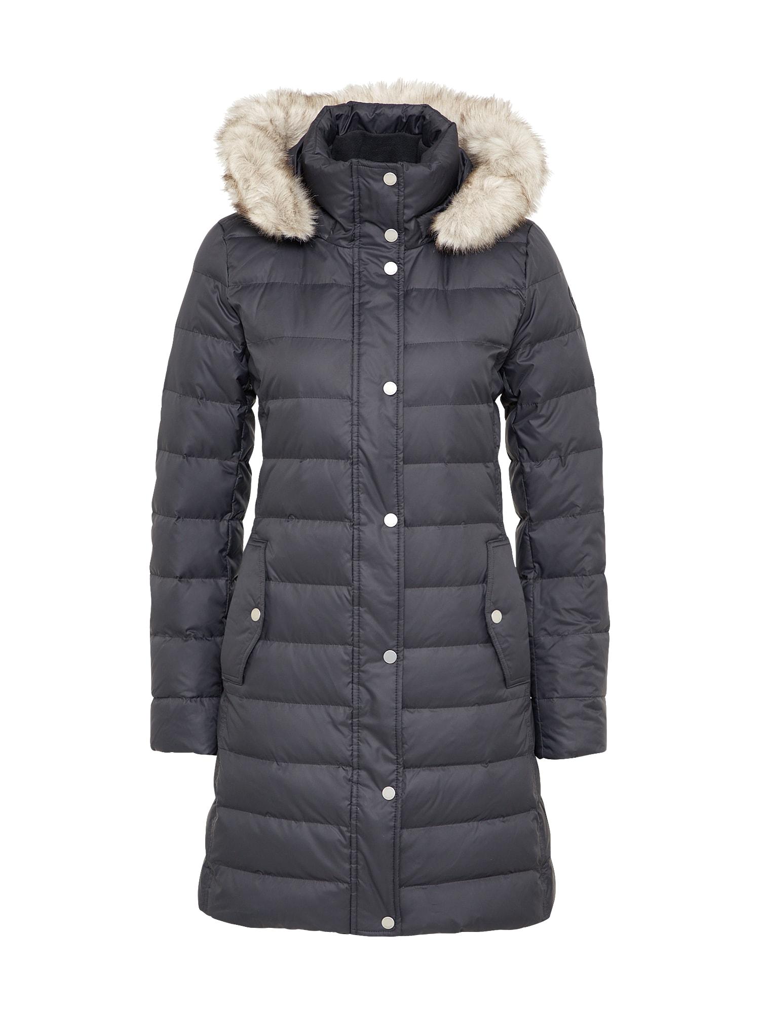 Zimní kabát TYRA DOWN COAT černá TOMMY HILFIGER