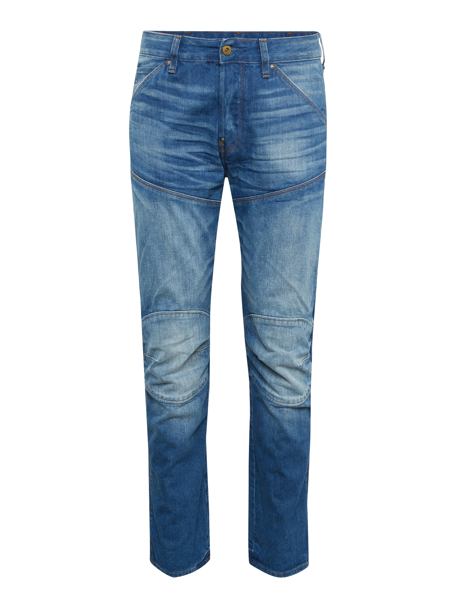 G-STAR RAW Heren Jeans 5620 ELWOOD 3D STRAIGHT blue denim