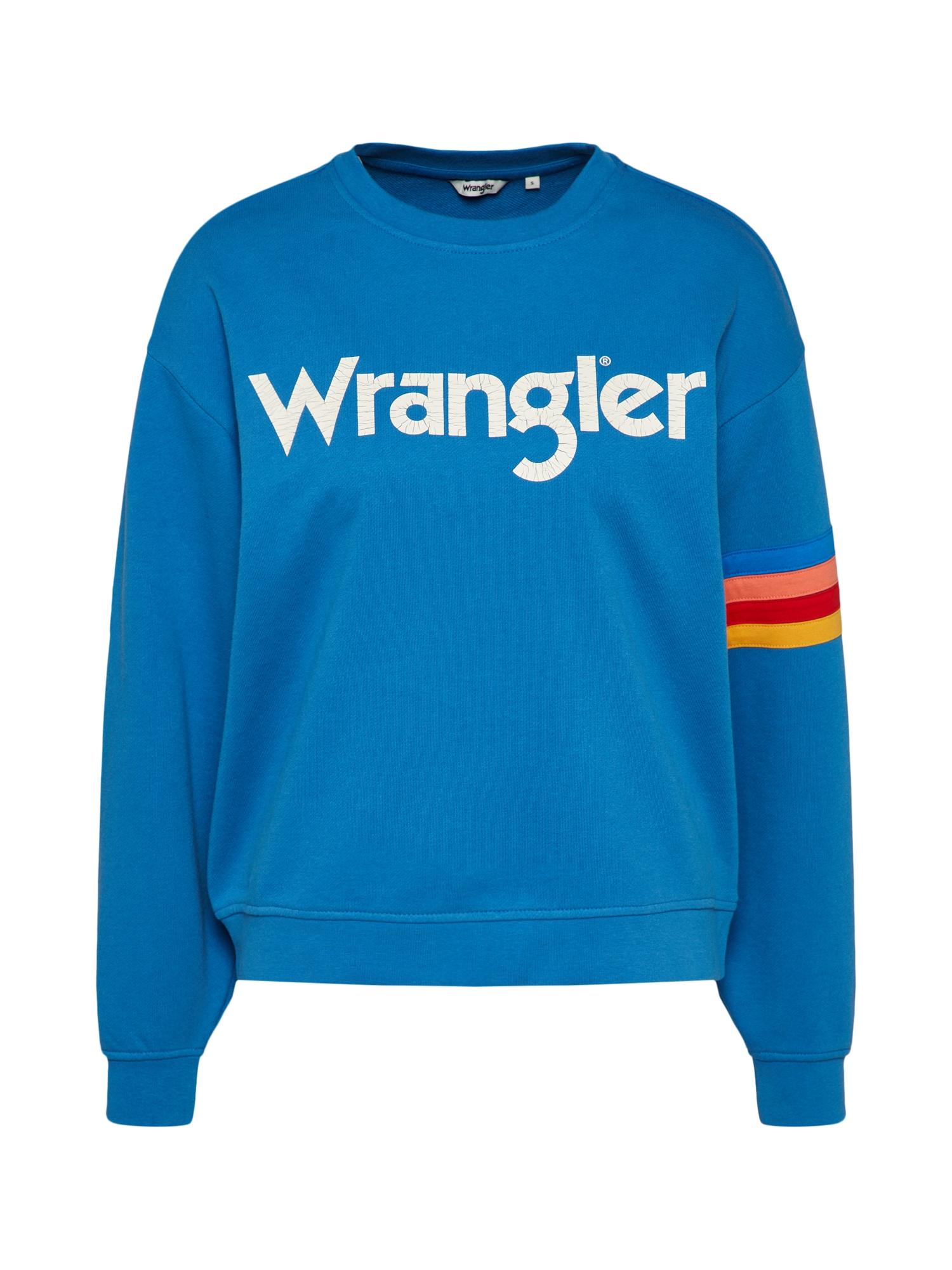 Wrangler Sweater met logoprint